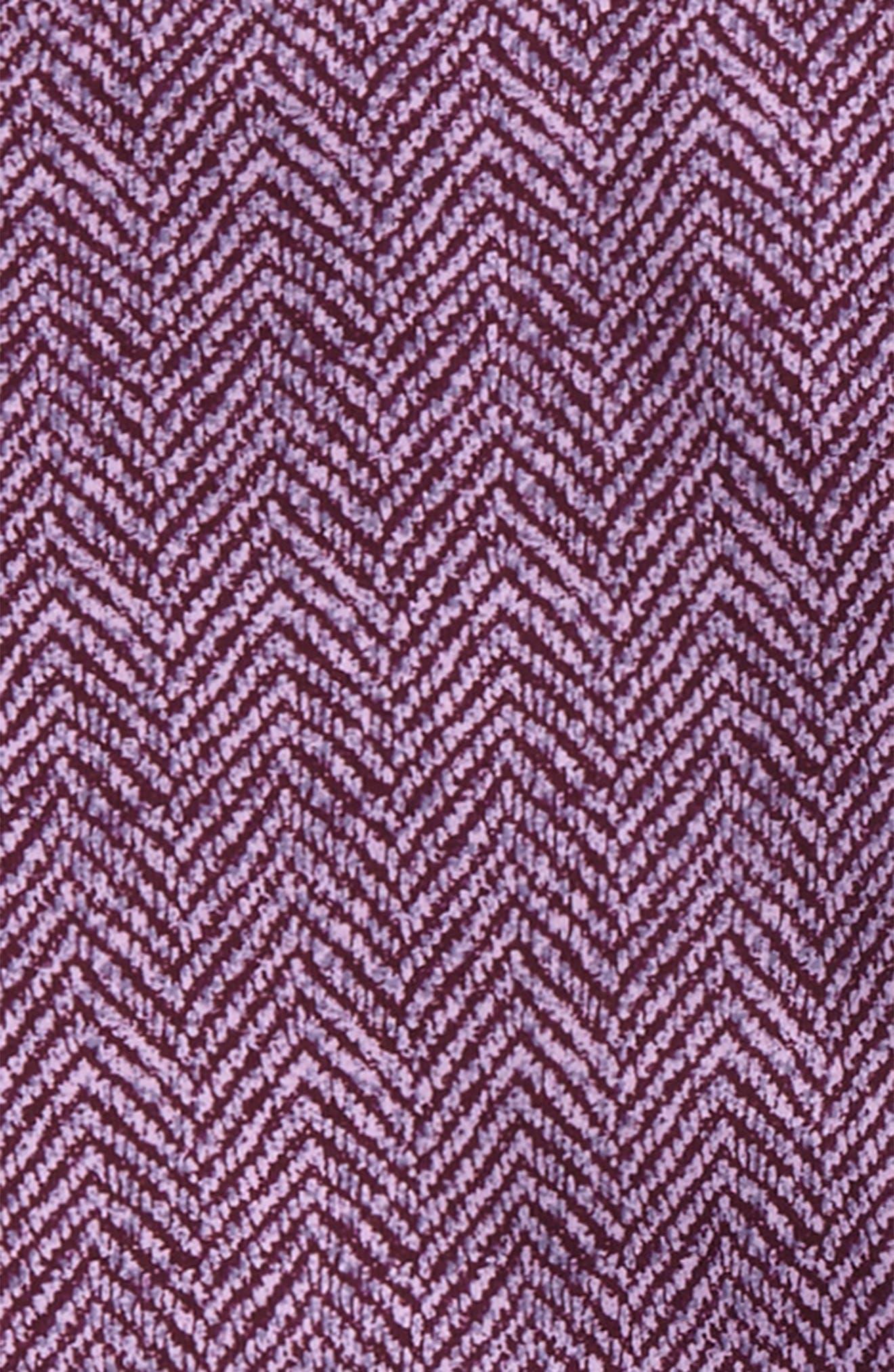 Tweed Print Leggings,                             Alternate thumbnail 4, color,