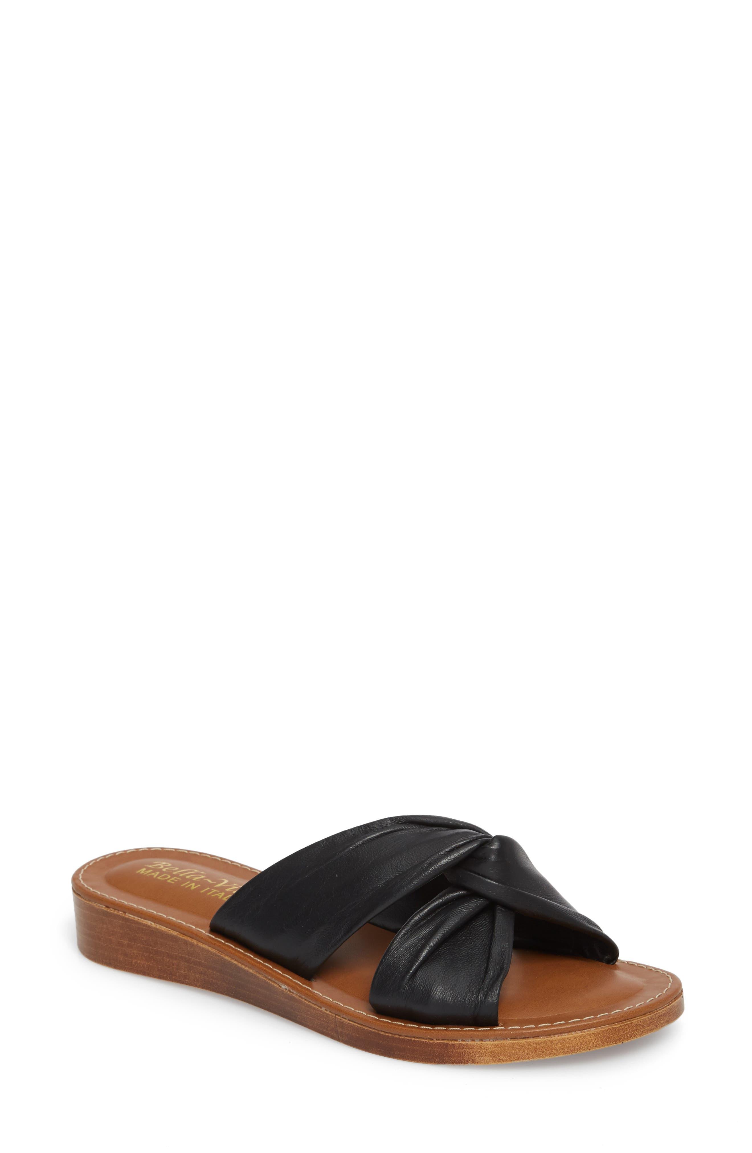 Noa Slide Sandal,                             Main thumbnail 1, color,                             001
