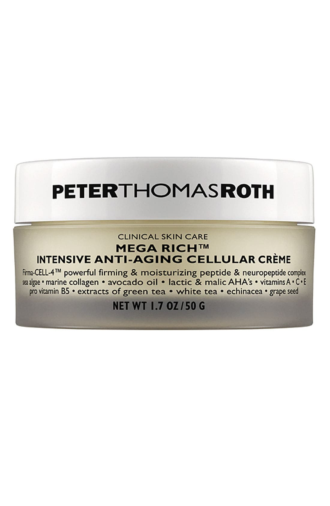 'Mega Rich' Intensive Anti-Aging Cellular Crème,                             Main thumbnail 1, color,                             NO COLOR
