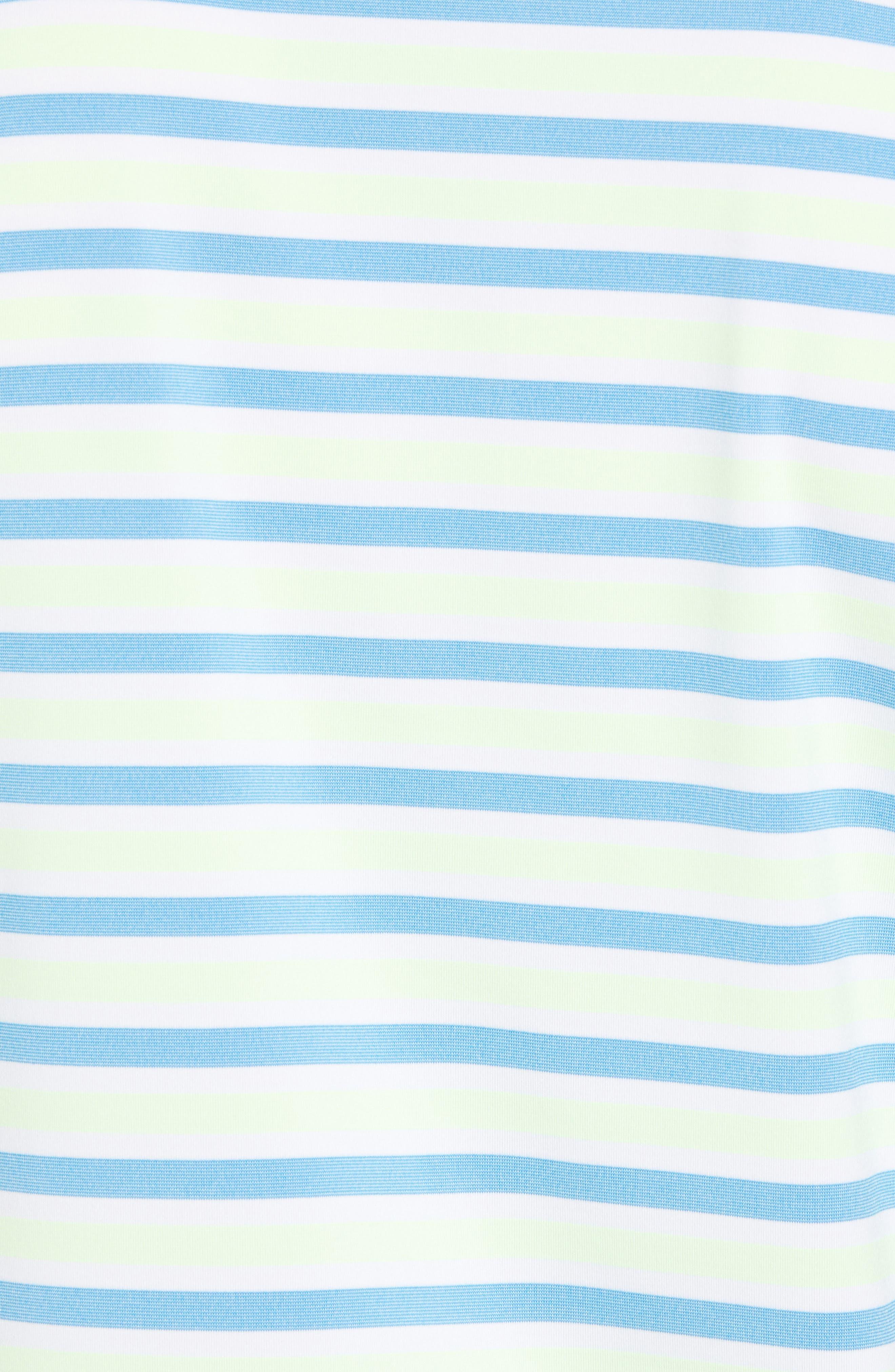Murray Stripe DryTec Polo,                             Alternate thumbnail 5, color,                             ORBIT