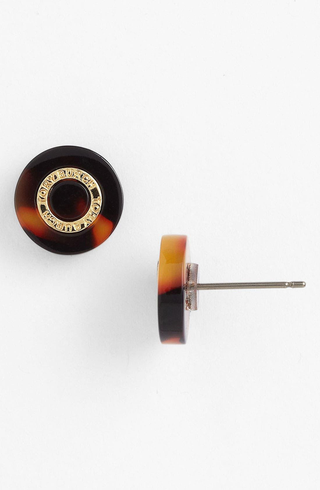 Logo Stud Earrings,                         Main,                         color, 200