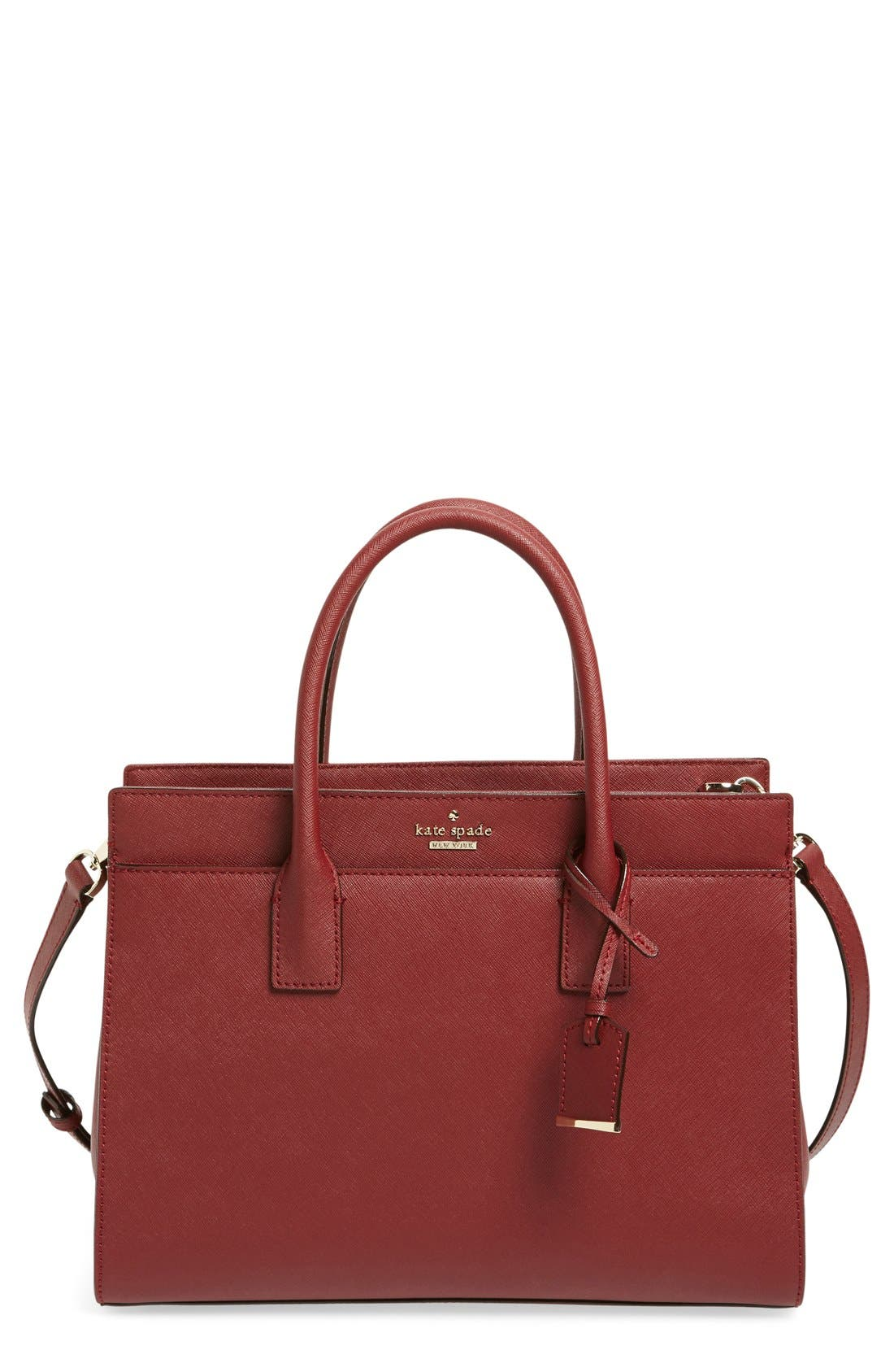 cameron street - candace leather satchel,                             Main thumbnail 19, color,