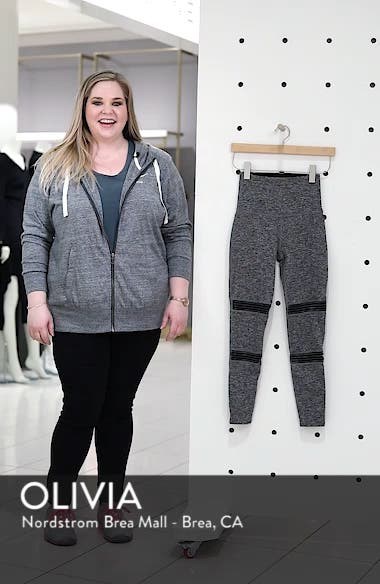 Mirage Midi High Waisted Space Dye Leggings, sales video thumbnail