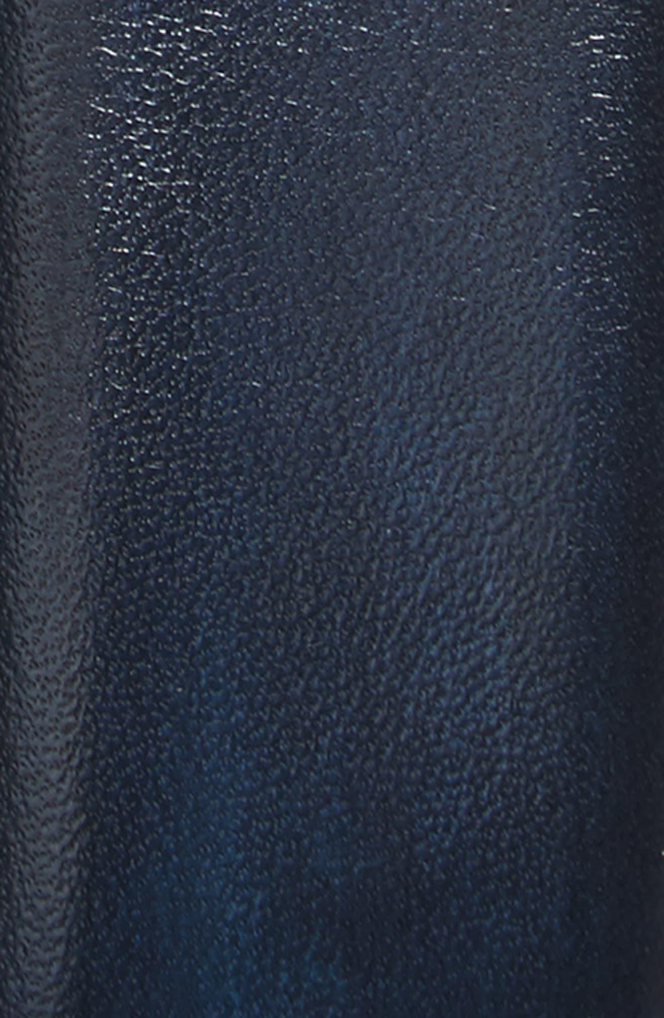 Bolton Leather Belt,                             Alternate thumbnail 2, color,                             410