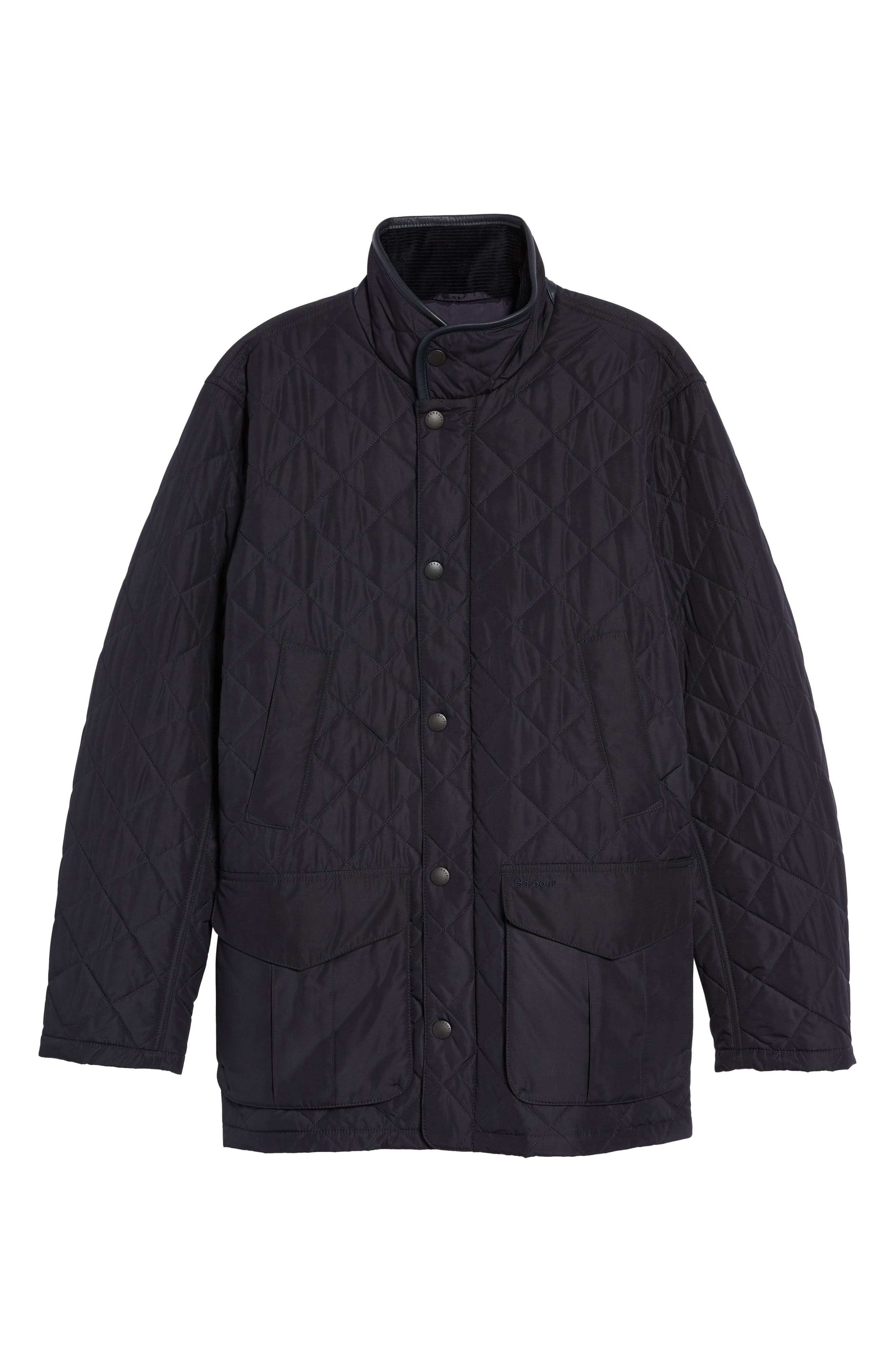 Devon Quilted Water-Resistant Jacket,                             Alternate thumbnail 5, color,                             410