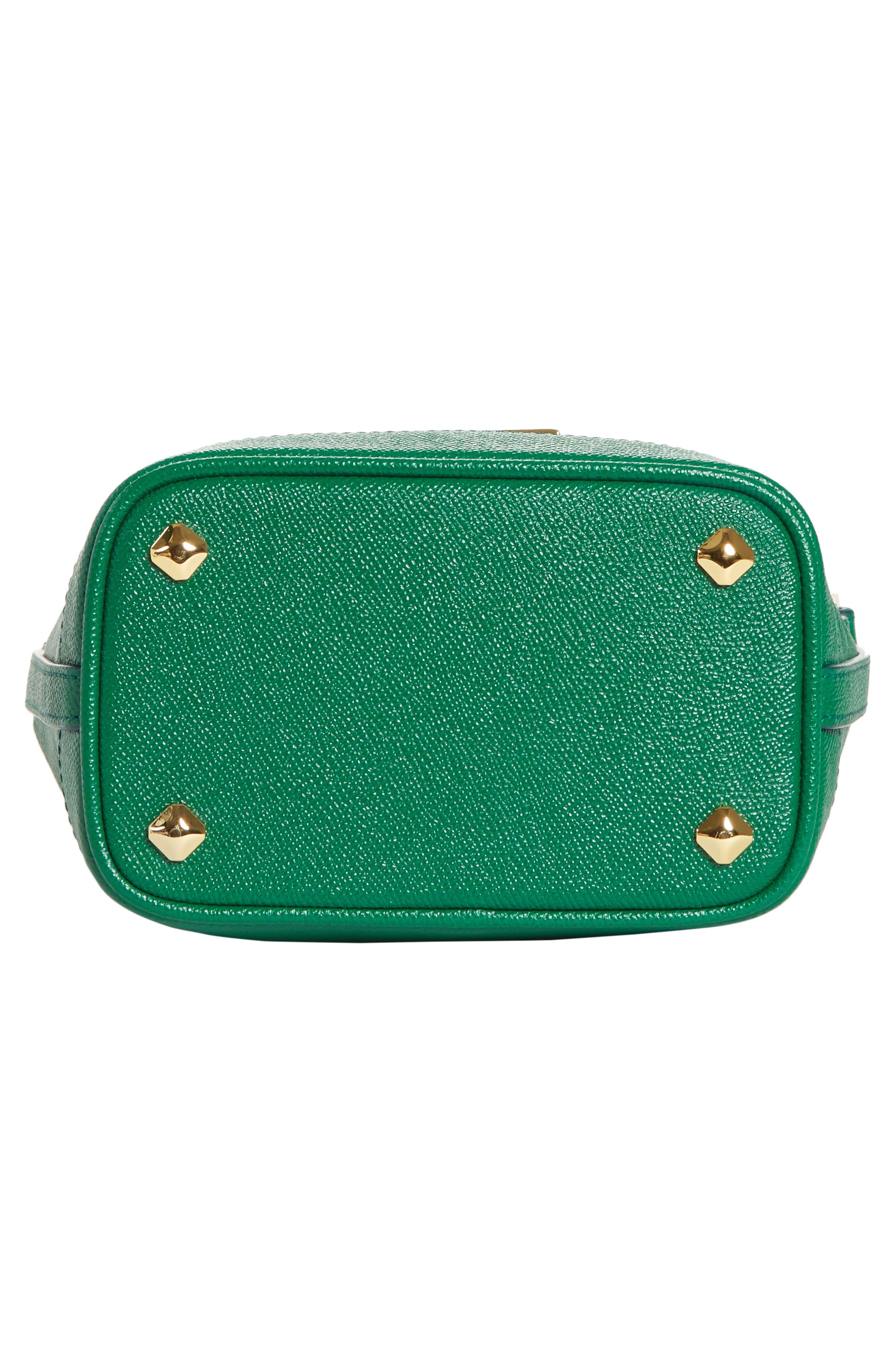 Mini RGB Drawstring Crossbody Bag,                             Alternate thumbnail 6, color,                             GREEN