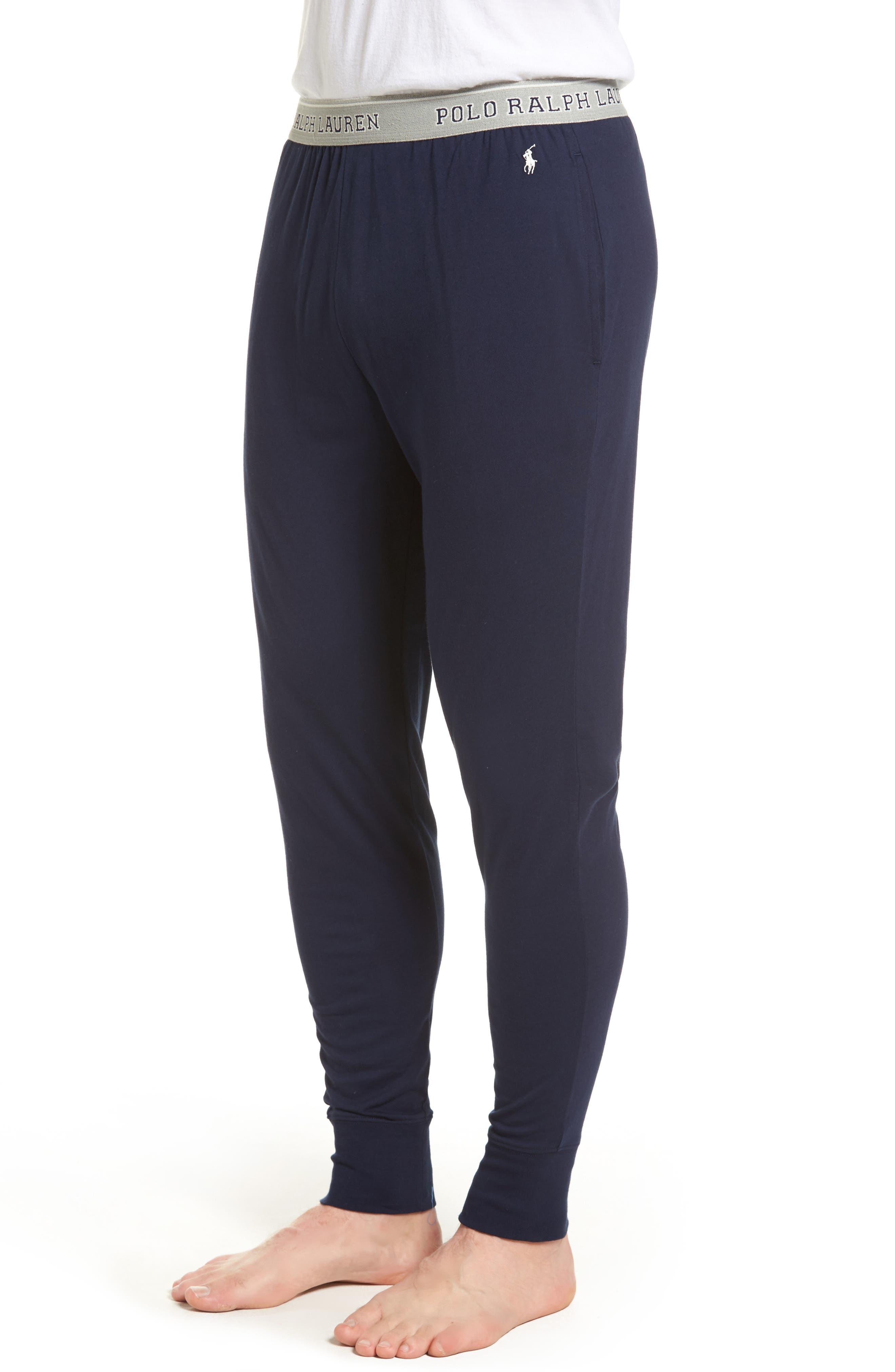 Cotton Jogger Lounge Pants,                             Alternate thumbnail 8, color,