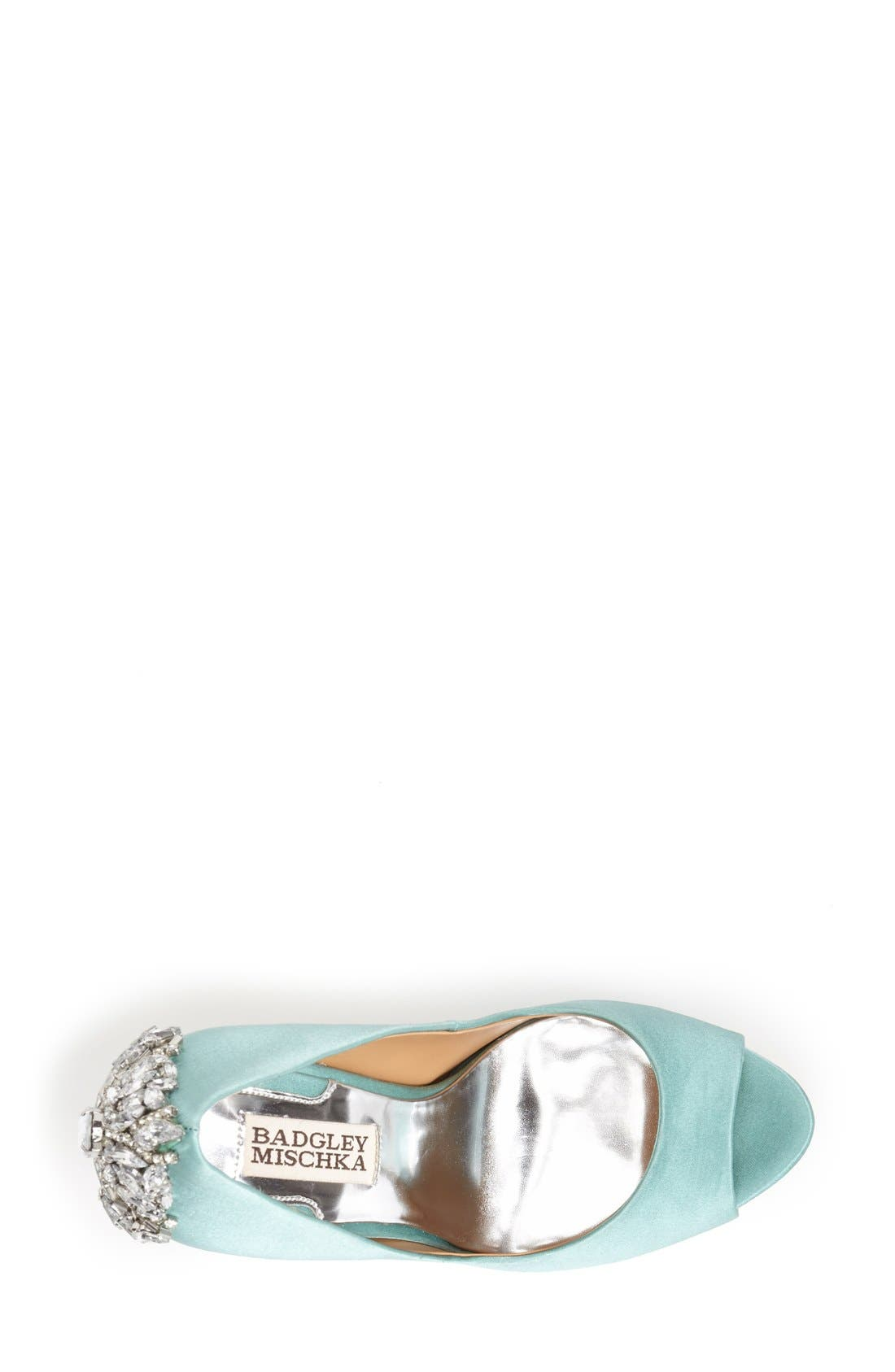 'Kiara' Crystal Back Open Toe Pump,                             Alternate thumbnail 79, color,