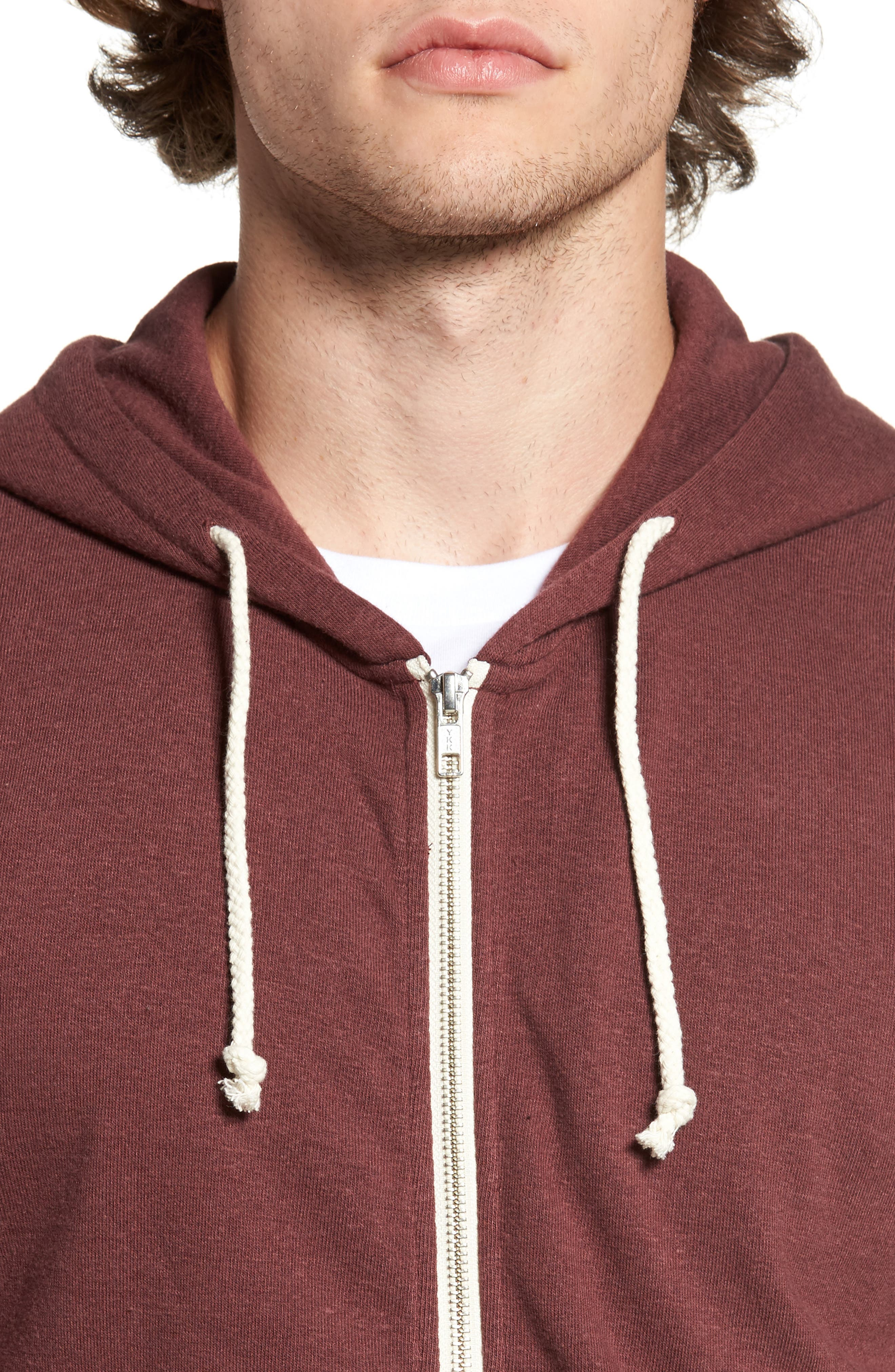 Threads for Thought Trim Fit Heathered Hoodie,                             Alternate thumbnail 53, color,