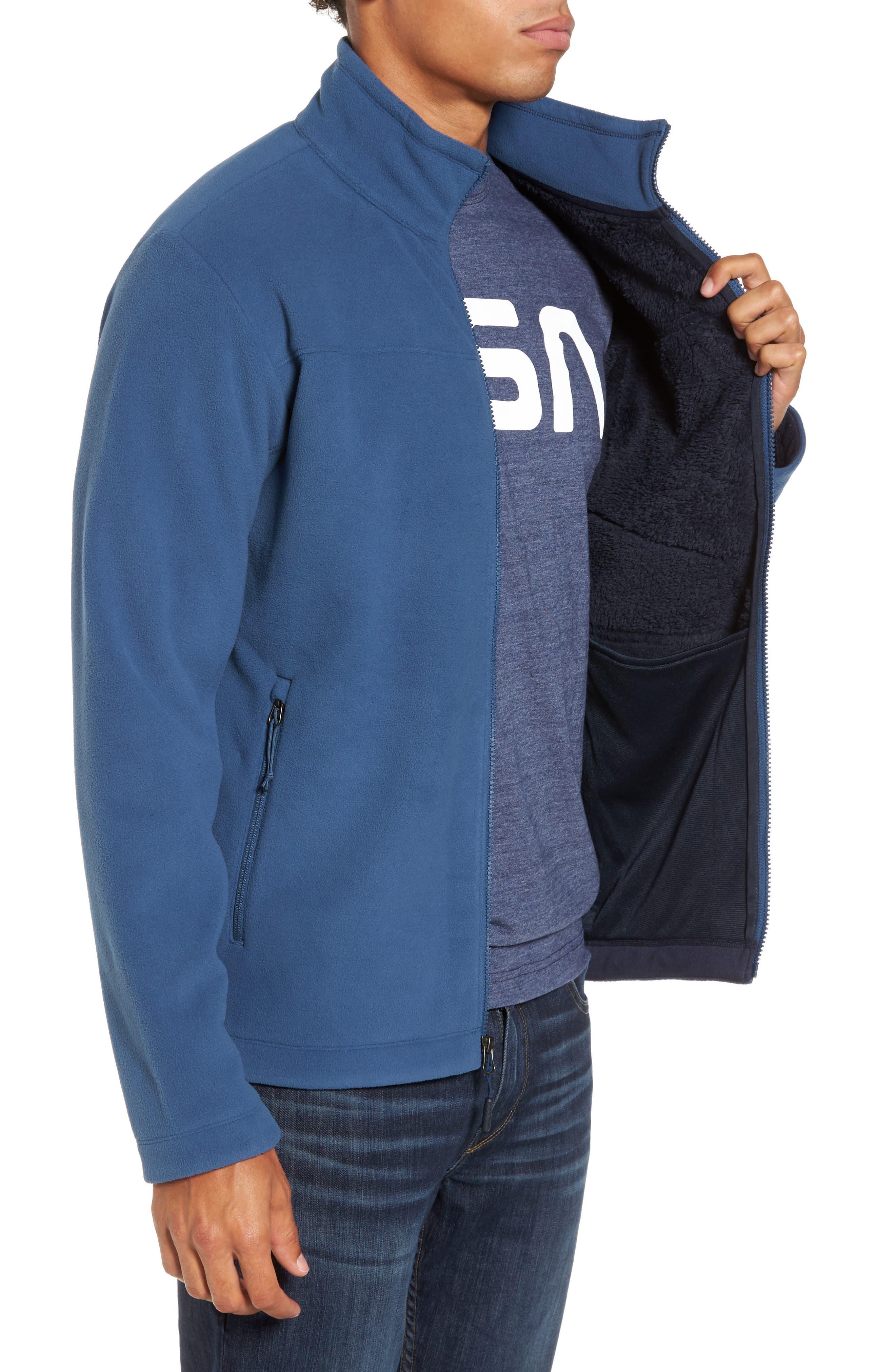 'Chimborazo' Zip Front Fleece Jacket,                             Alternate thumbnail 26, color,