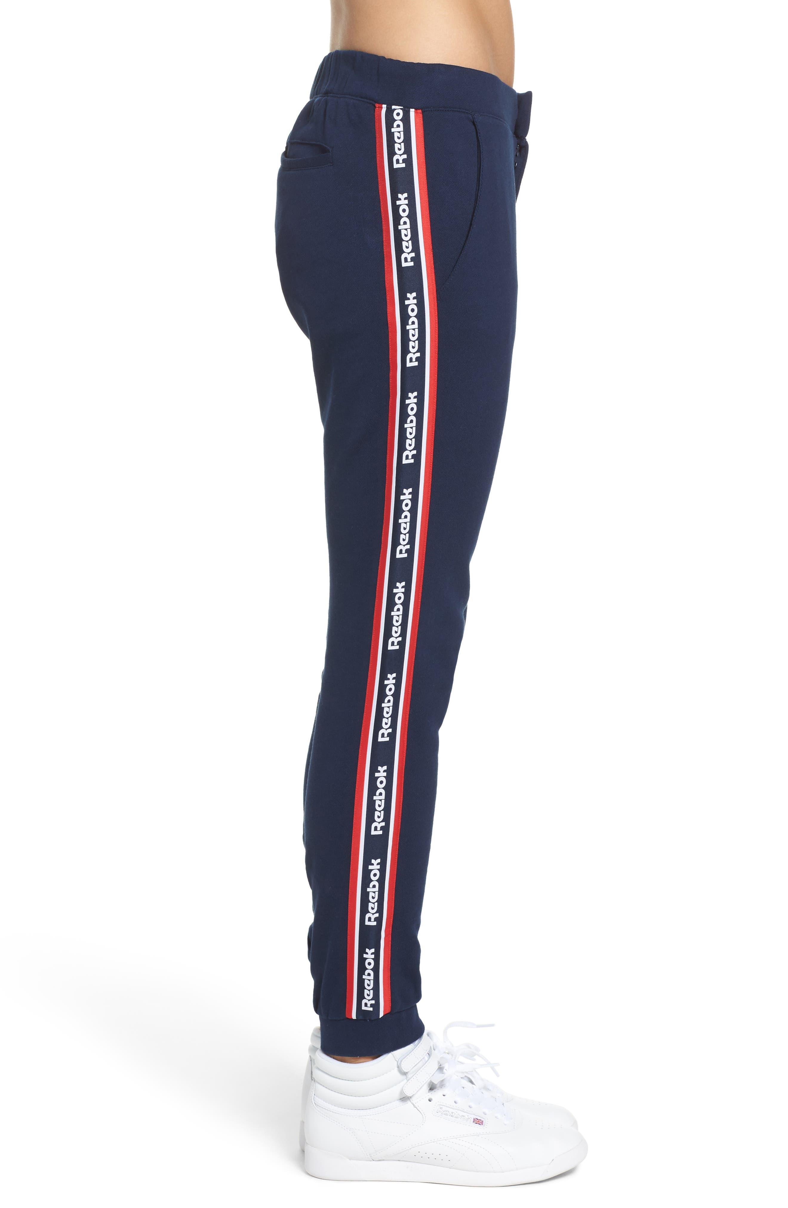 French Terry Pants,                             Alternate thumbnail 7, color,