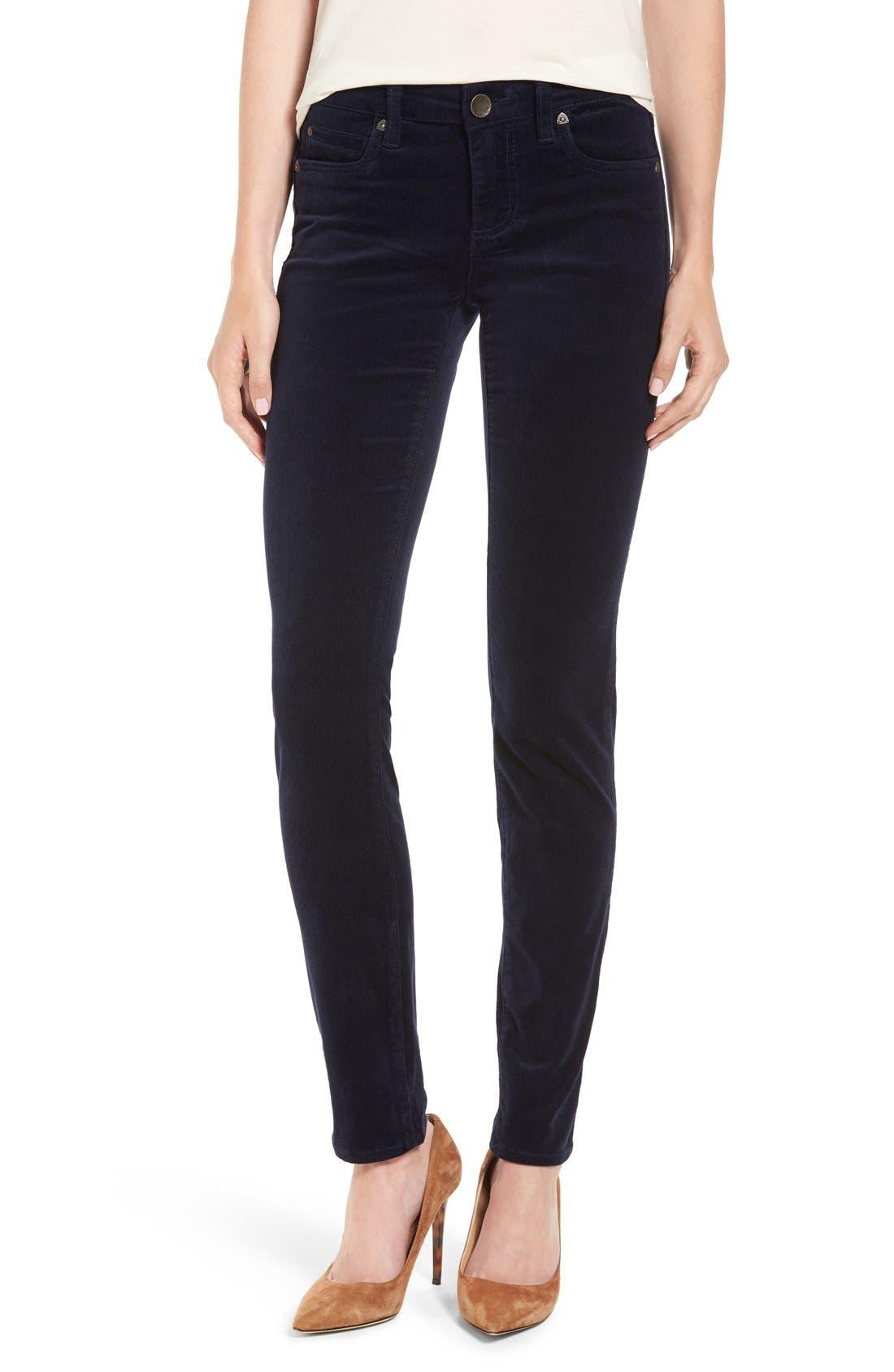'Diana' Stretch Corduroy Skinny Pants,                             Main thumbnail 30, color,