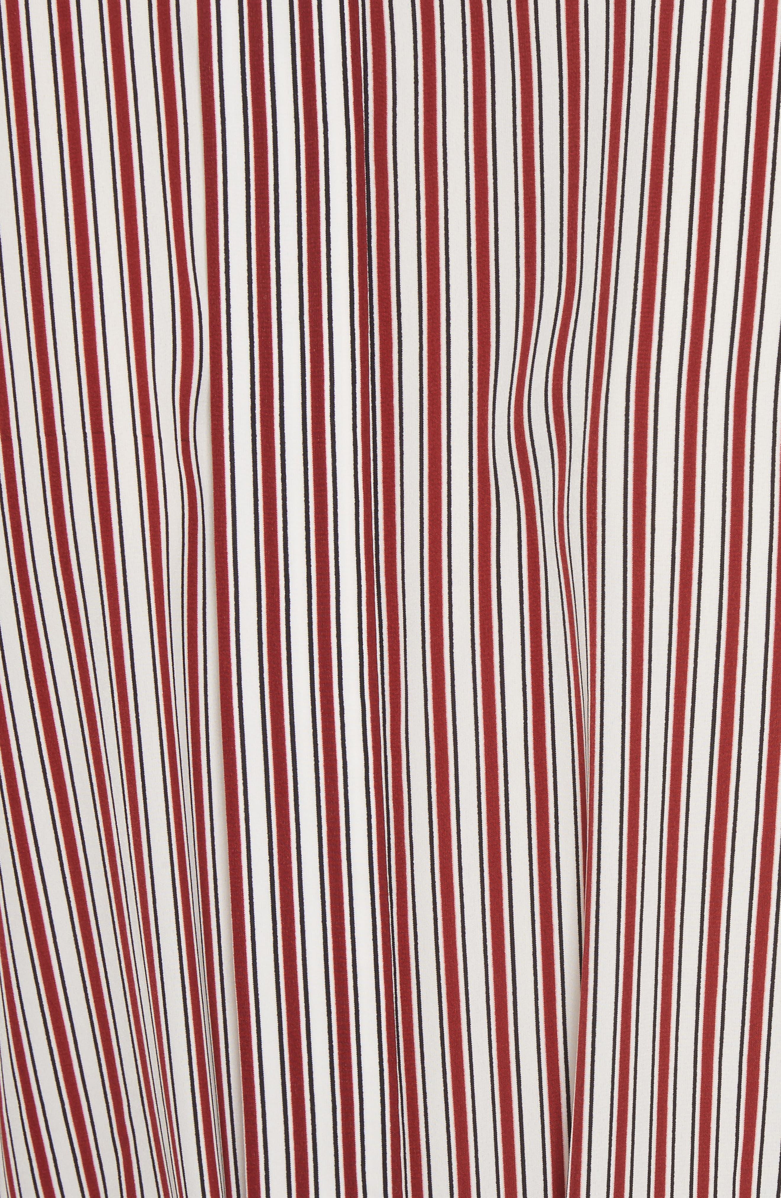 Long Button Front Shirt,                             Alternate thumbnail 5, color,