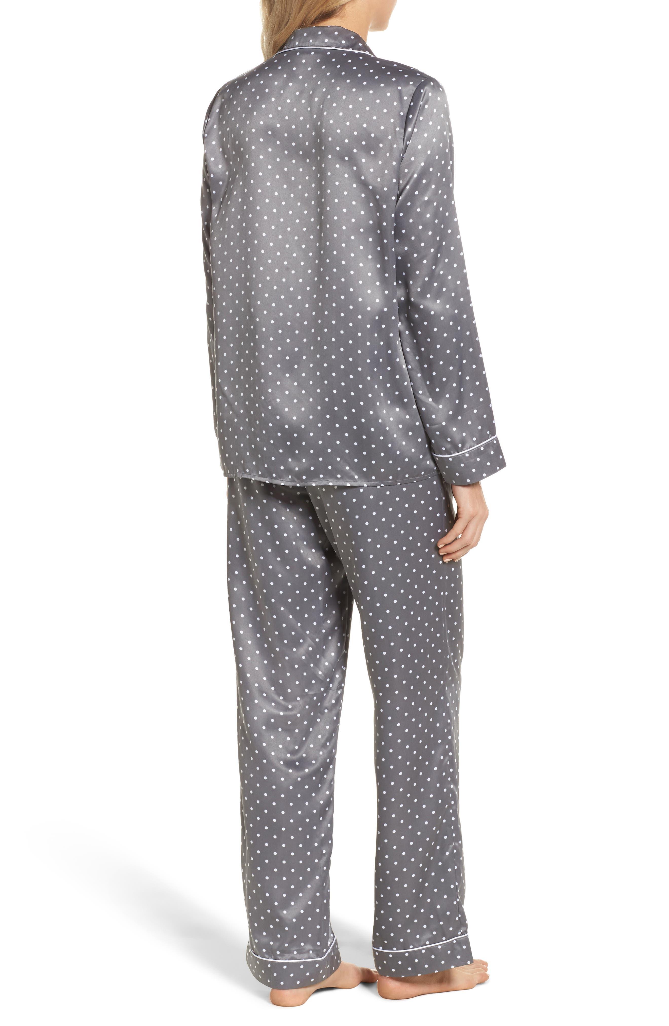 Satin Pajamas,                             Alternate thumbnail 2, color,                             021
