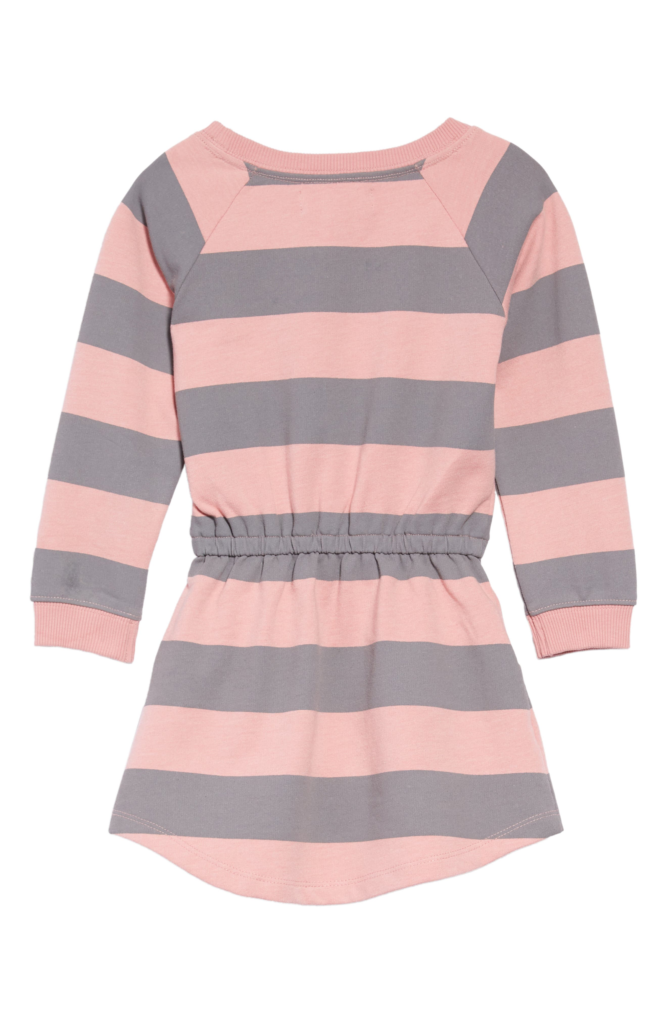 Ruby Sweatshirt Dress,                             Alternate thumbnail 2, color,                             PINK