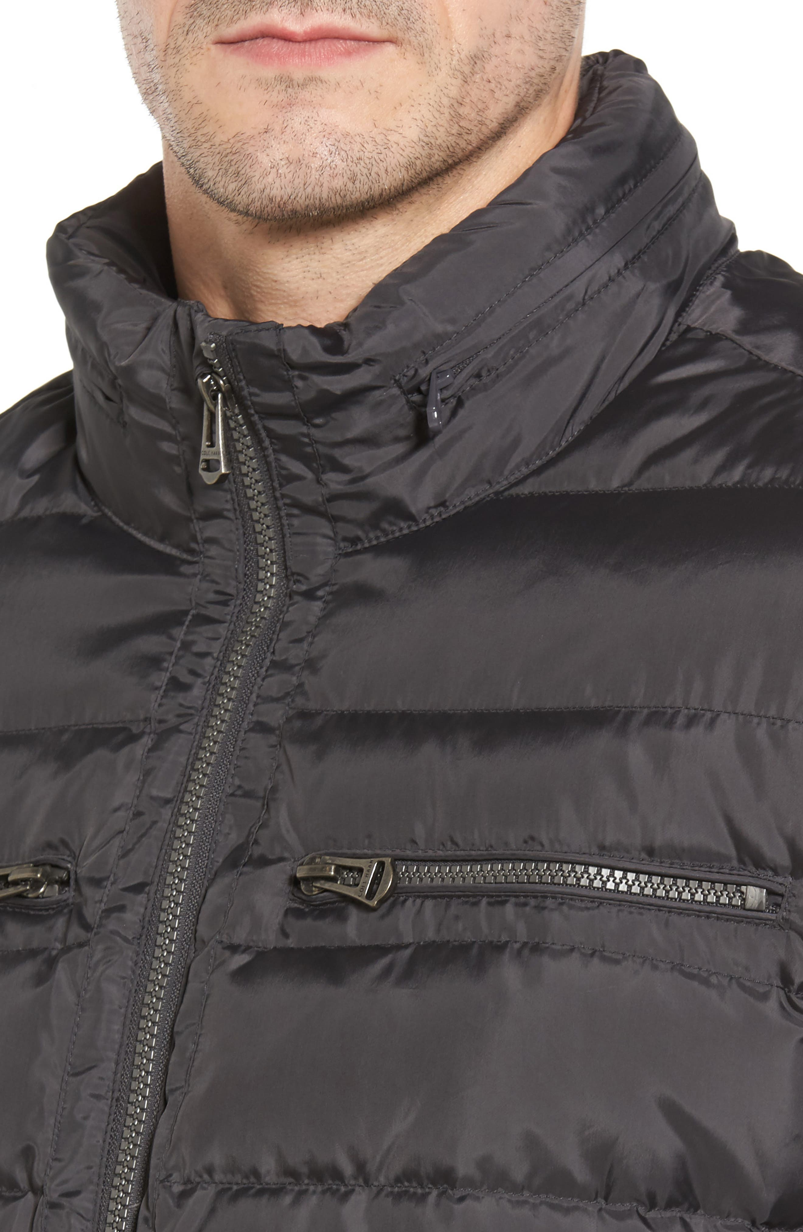 Packable Down Jacket,                             Alternate thumbnail 4, color,                             GREY