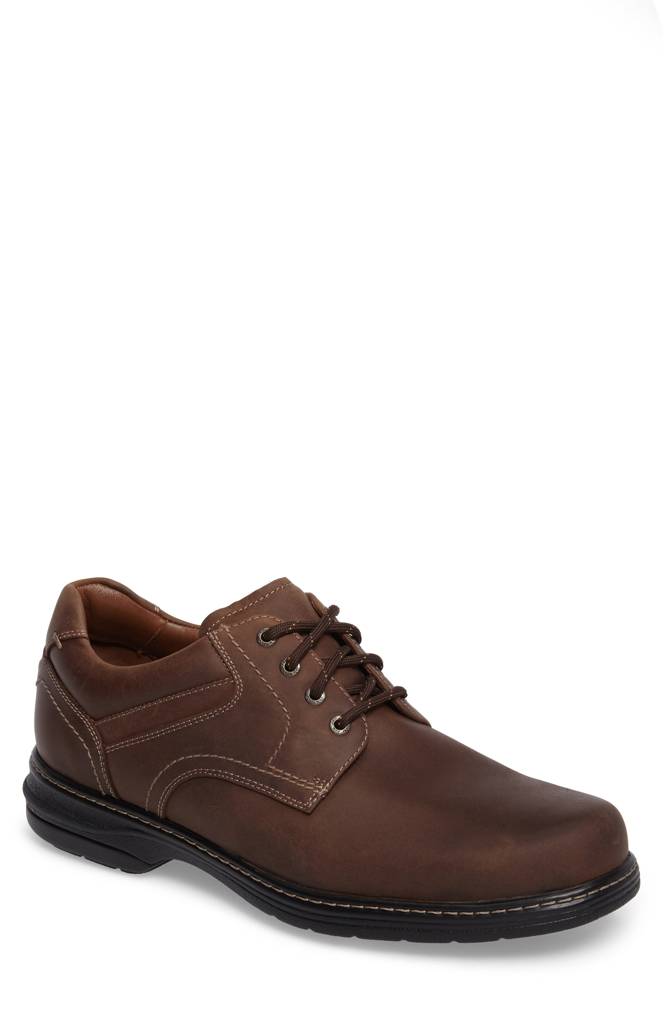 Windham Waterproof Plain Toe Derby,                         Main,                         color, TAN