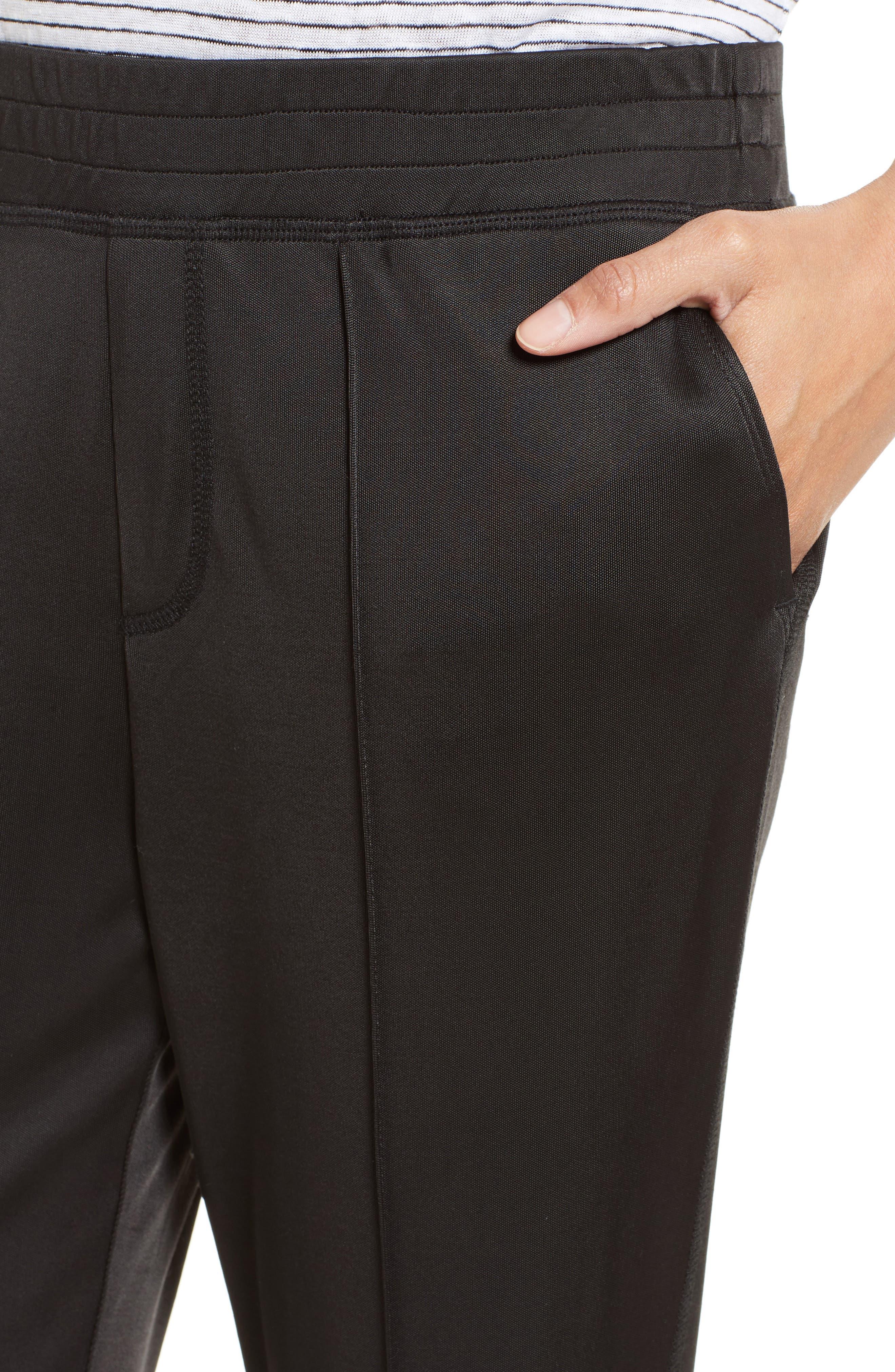 Interlock Track Pants,                             Alternate thumbnail 4, color,                             001
