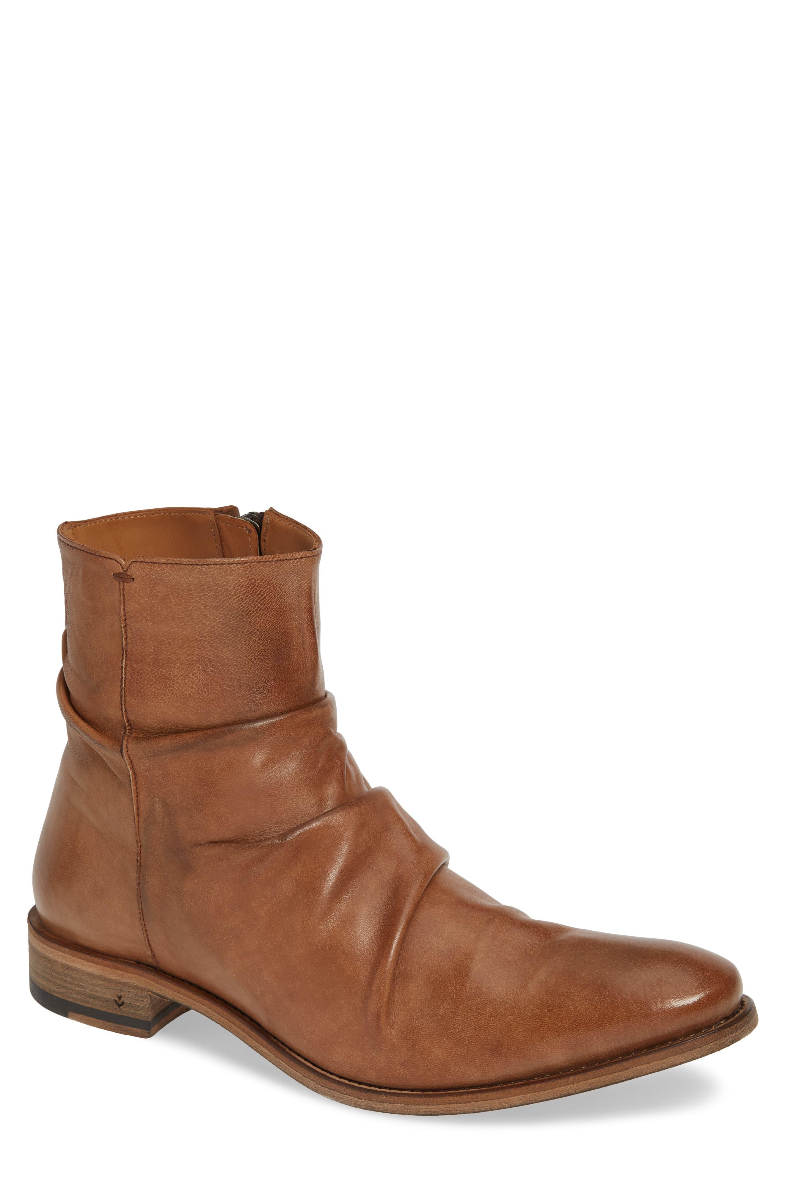 John Varvatos Collection Morrison Sherpei Boot, Brown