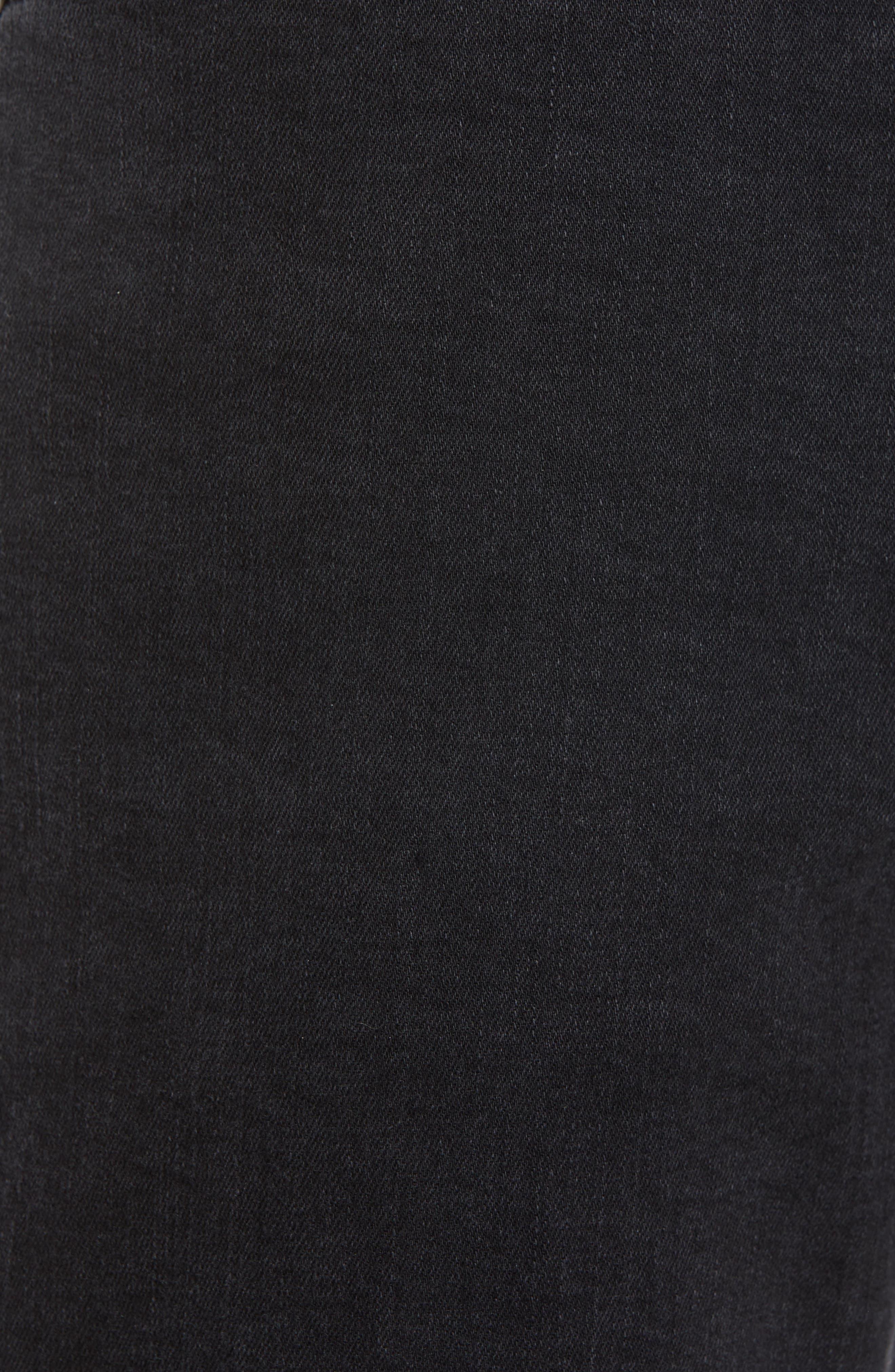 Everett Slim Straight Leg Jeans,                             Alternate thumbnail 5, color,                             BRIMSTONE