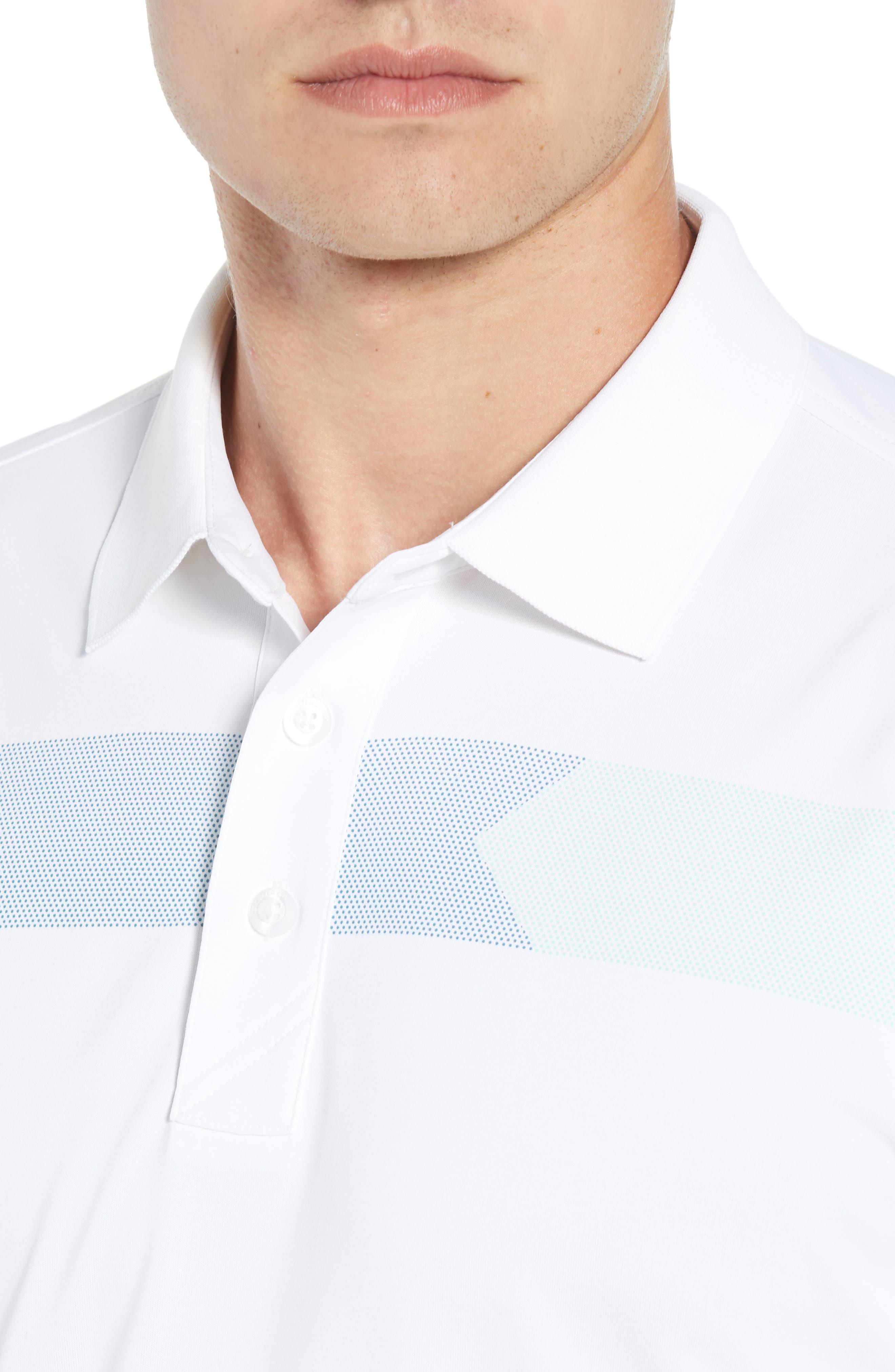 Trent DryTec Polo,                             Alternate thumbnail 4, color,                             WHITE