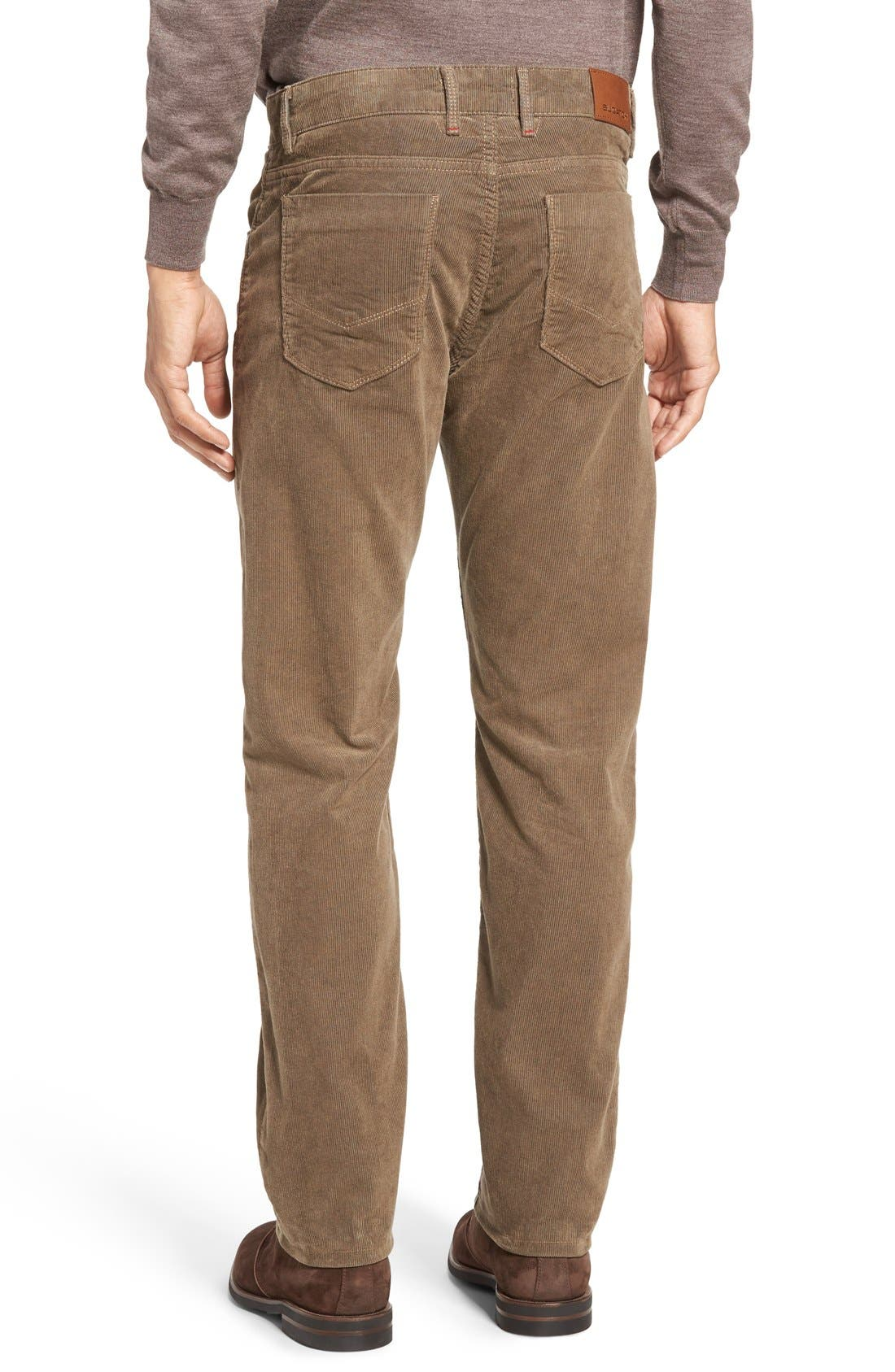 Slim Fit Corduroy Pants,                             Alternate thumbnail 8, color,