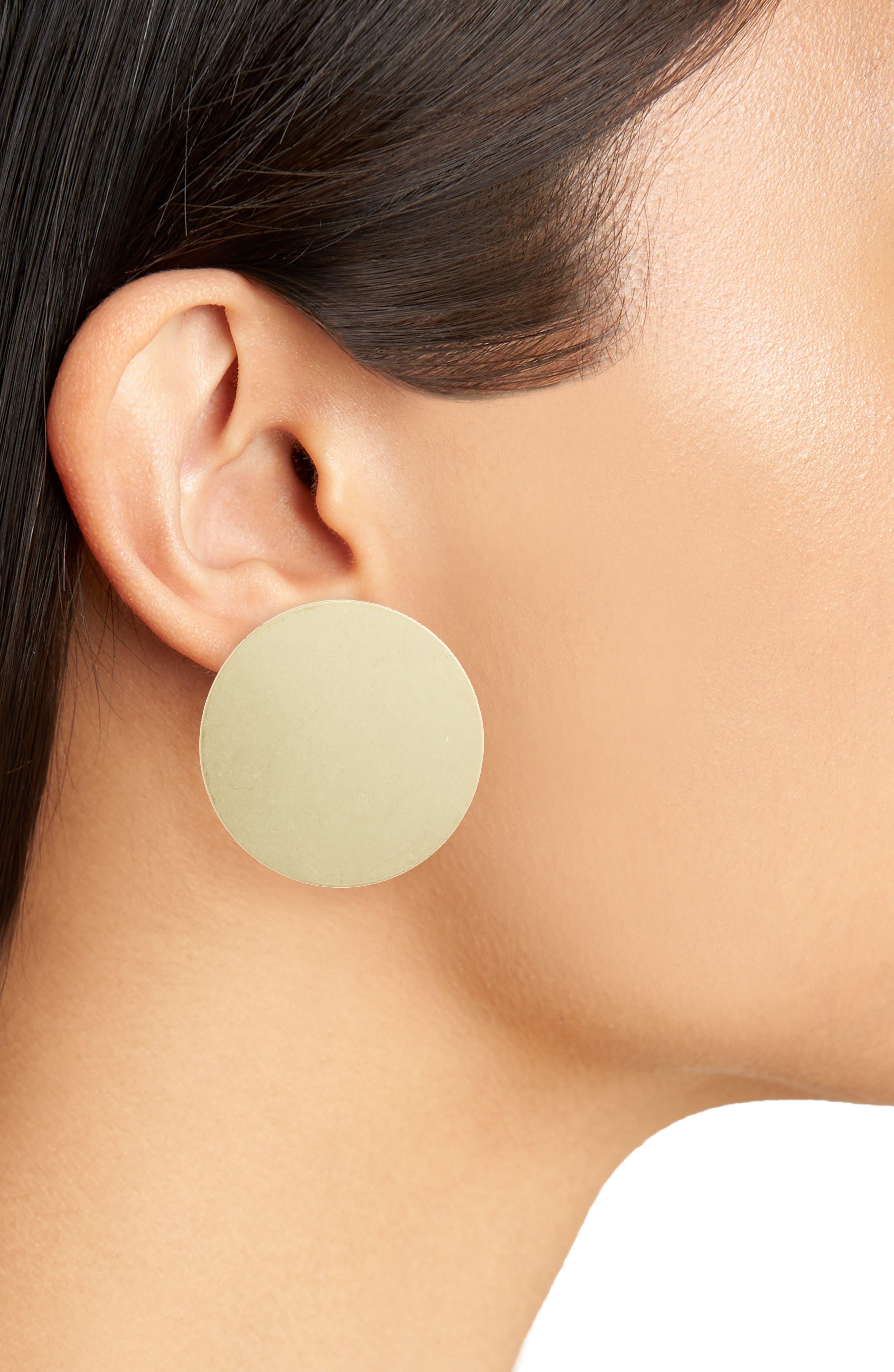 Ariel Stud Earrings,                             Alternate thumbnail 4, color,