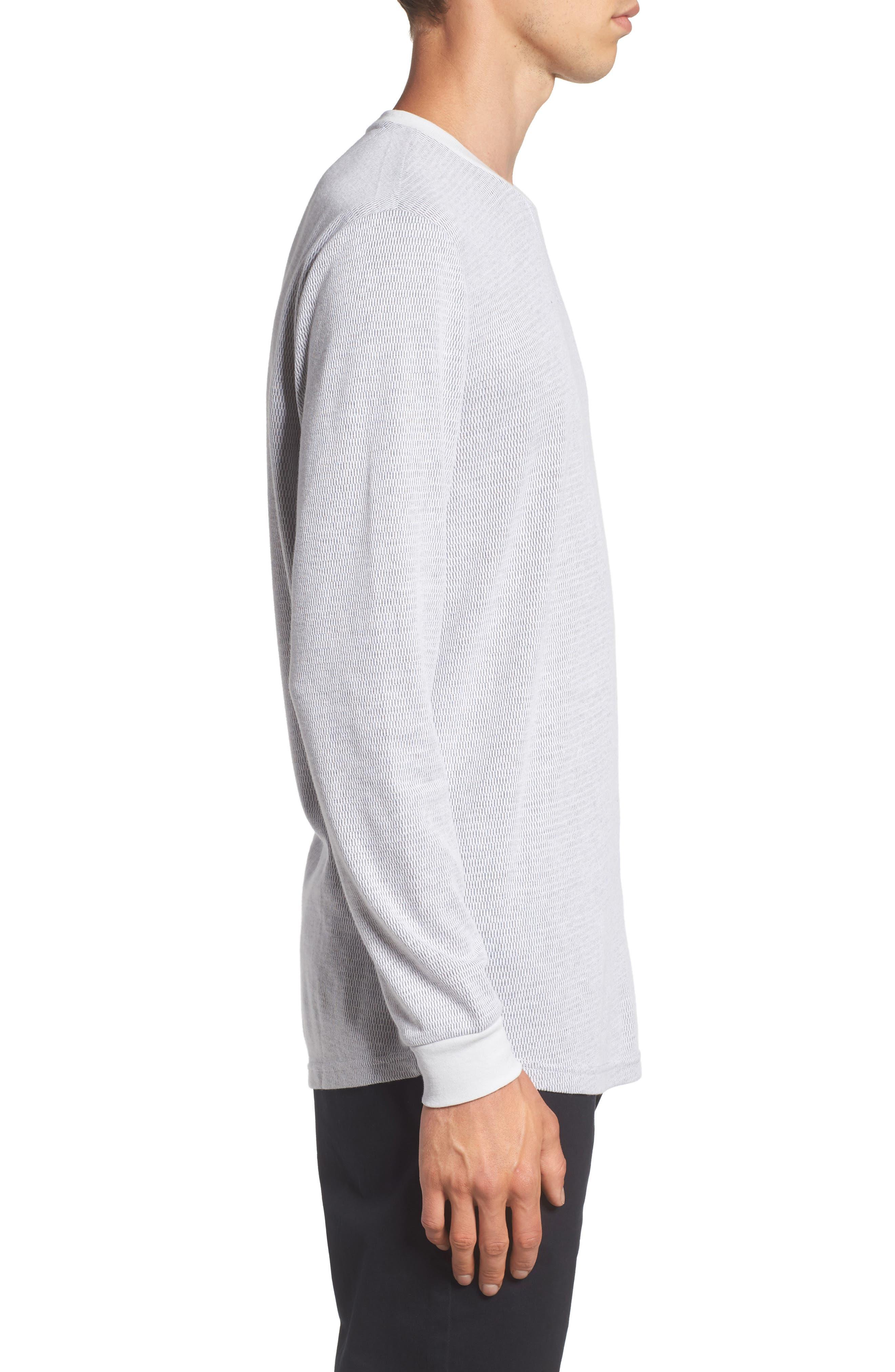 Longline Thermal T-Shirt,                             Alternate thumbnail 8, color,