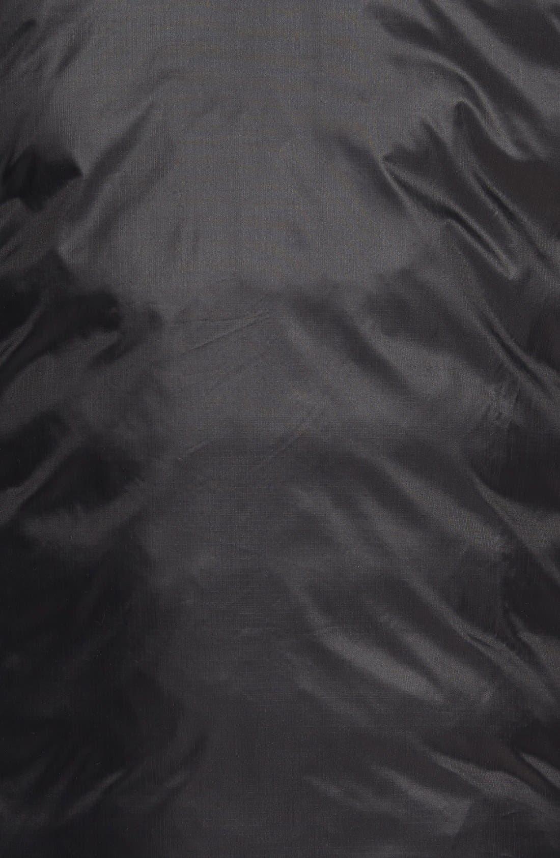 'Lodge' Slim Fit Packable Jacket,                             Alternate thumbnail 10, color,                             BLACK