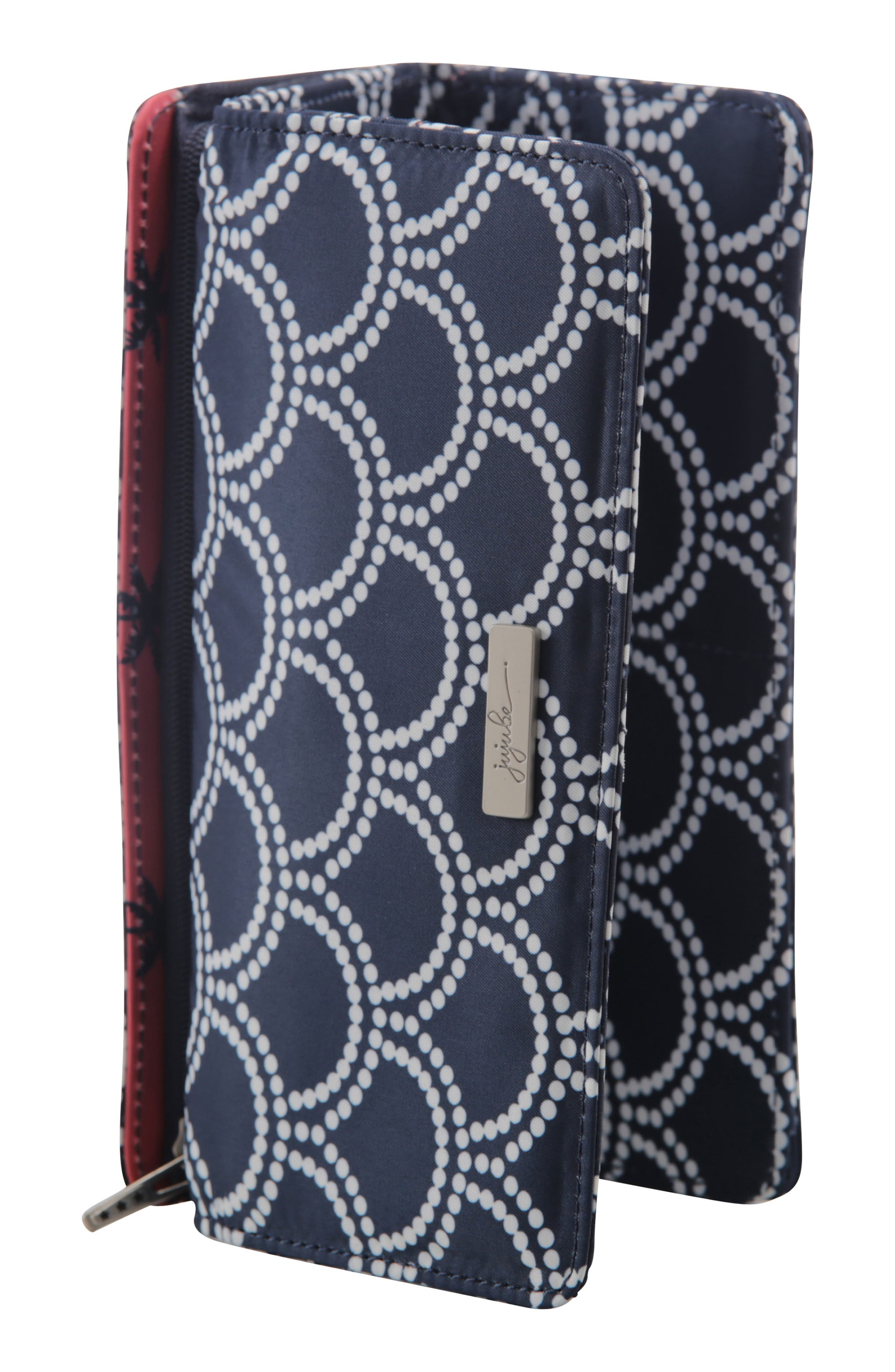 Be Rich - Coastal Collection Trifold Clutch Wallet,                             Alternate thumbnail 3, color,                             NEWPORT
