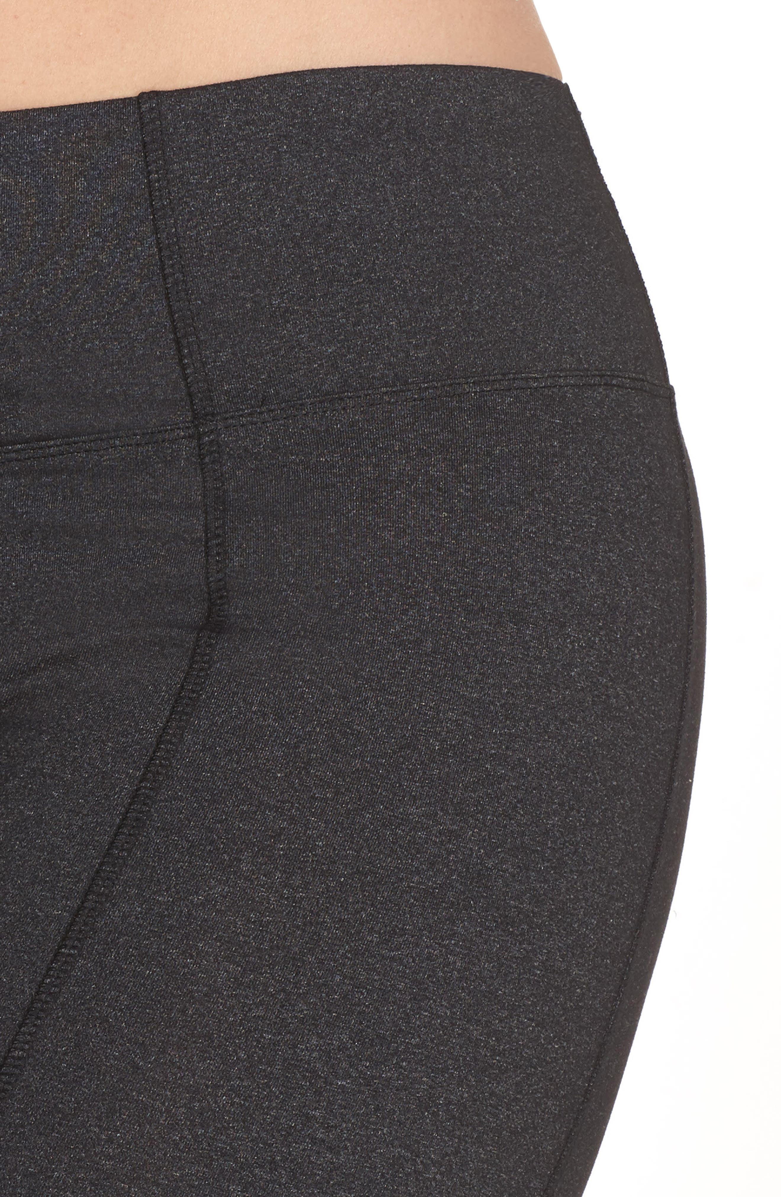 High Rise Control Top Bootcut Pants,                             Alternate thumbnail 4, color,                             003