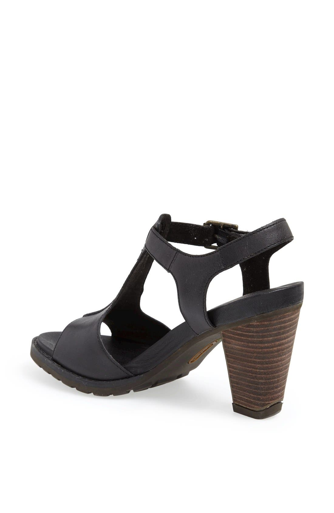 Earthkeepers<sup>®</sup> 'Stratham Heights' Sandal,                             Alternate thumbnail 4, color,                             001