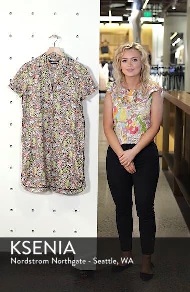 Tropical Print Shirtdress, sales video thumbnail