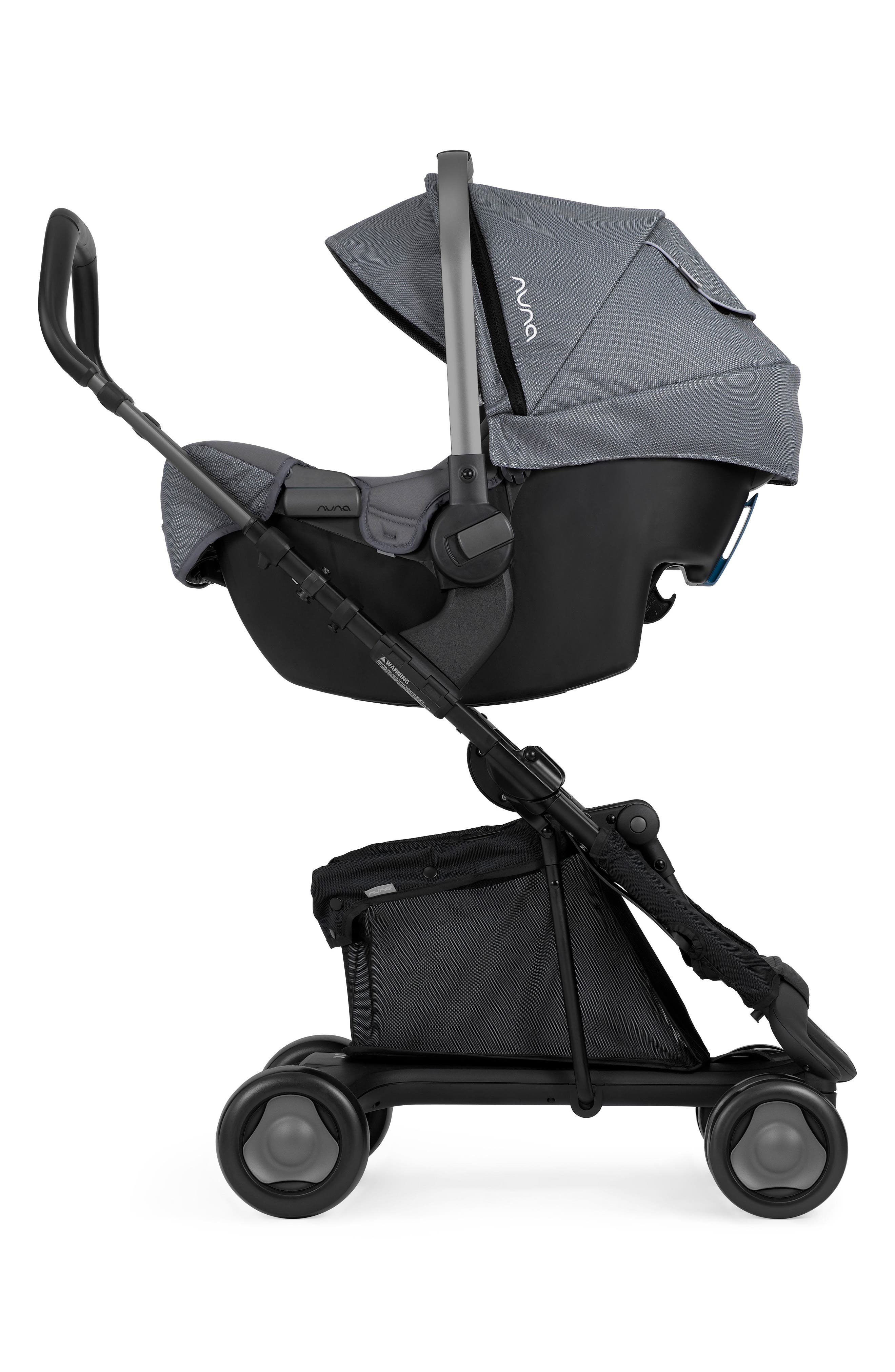 PEPP<sup>™</sup> Stroller & PIPA<sup>™</sup> Car Seat Travel System,                             Alternate thumbnail 3, color,                             GRAPHITE
