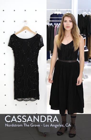 Beaded Swirls Cocktail Dress, sales video thumbnail