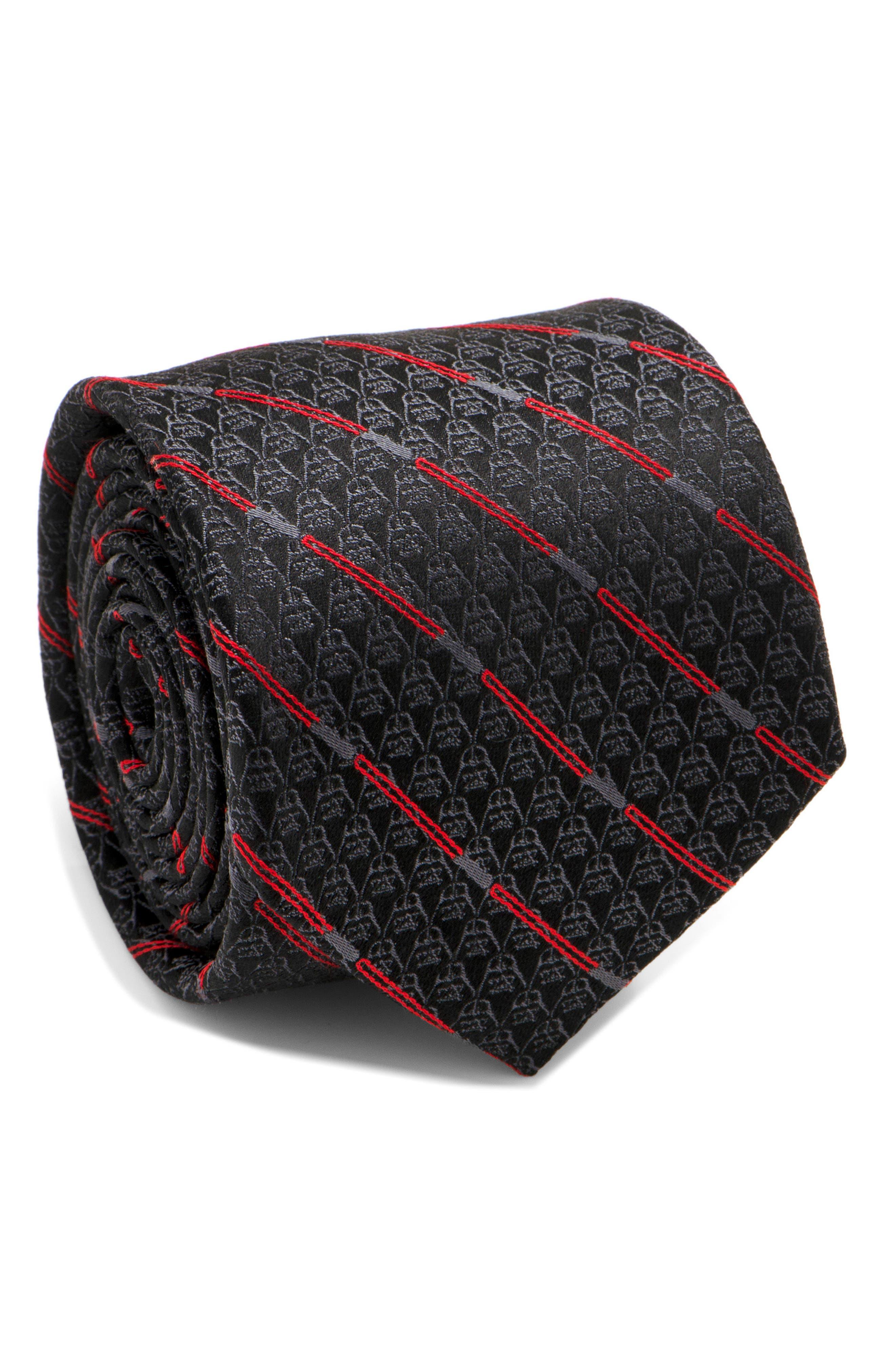 Cufflinks Inc. Darth Vader Light Saber Silk Tie,                             Main thumbnail 1, color,