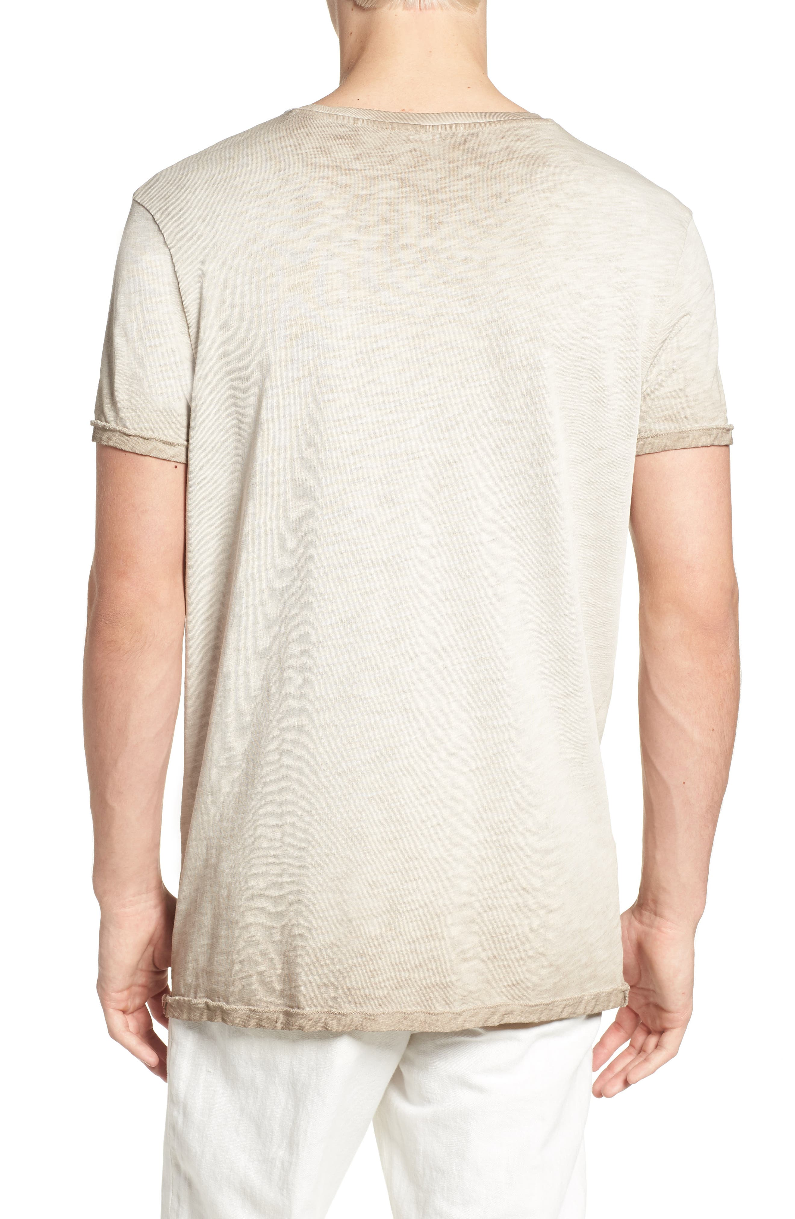 Oil Washed T-Shirt,                             Alternate thumbnail 6, color,