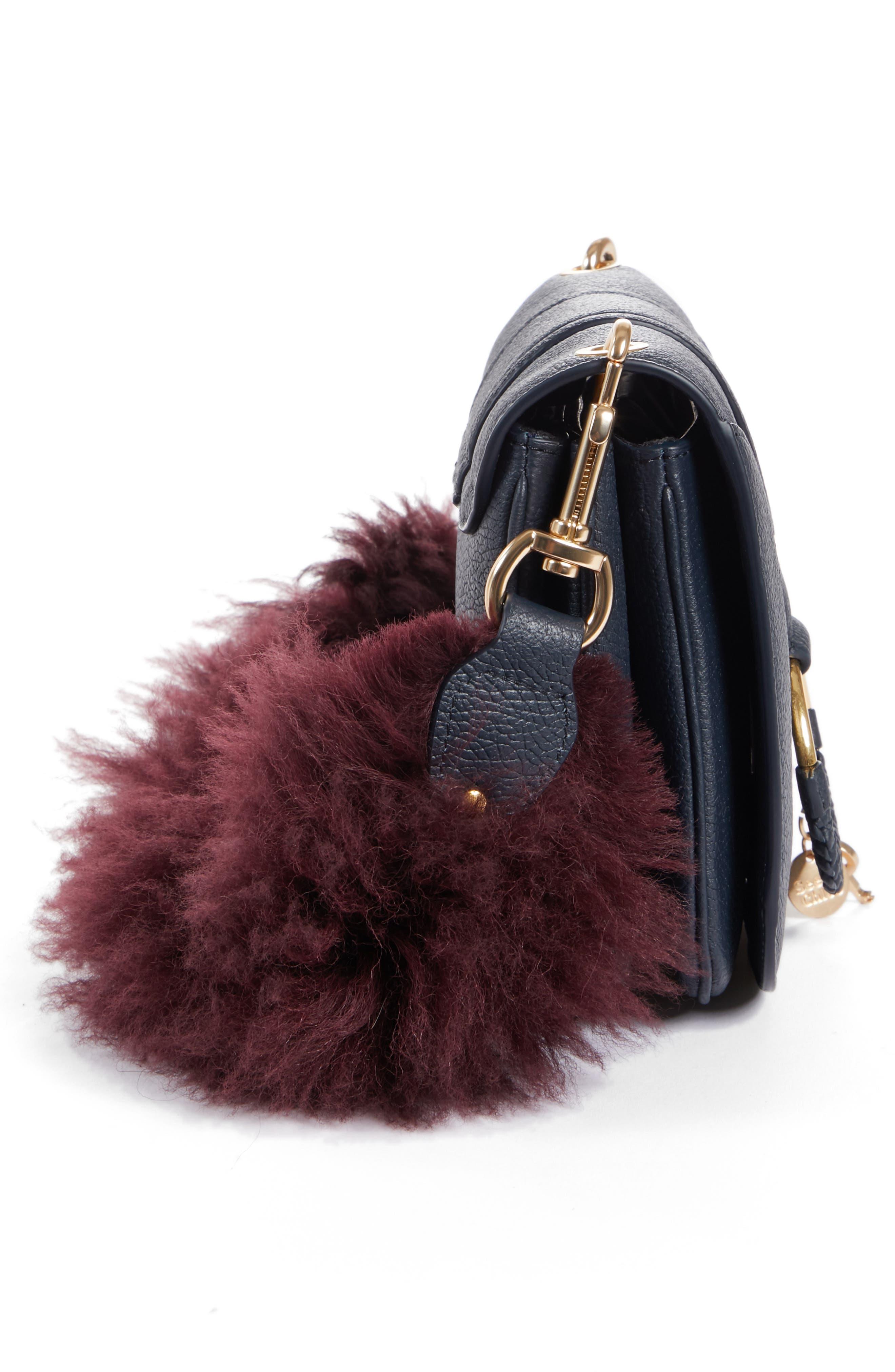 Hana Leather Shoulder Bag,                             Alternate thumbnail 6, color,                             401