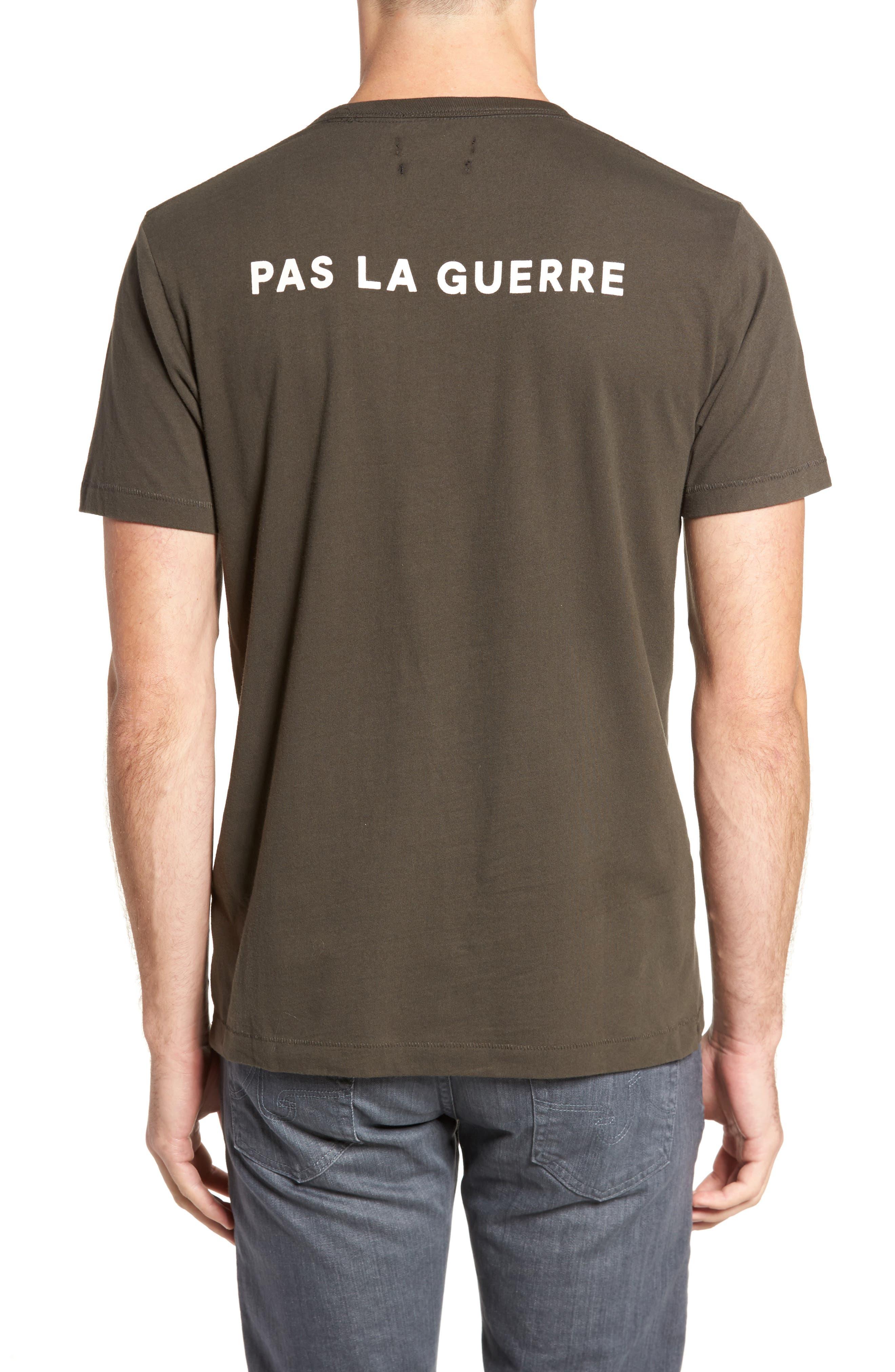 Faites L'Amour Regular Fit T-Shirt,                             Alternate thumbnail 2, color,                             001