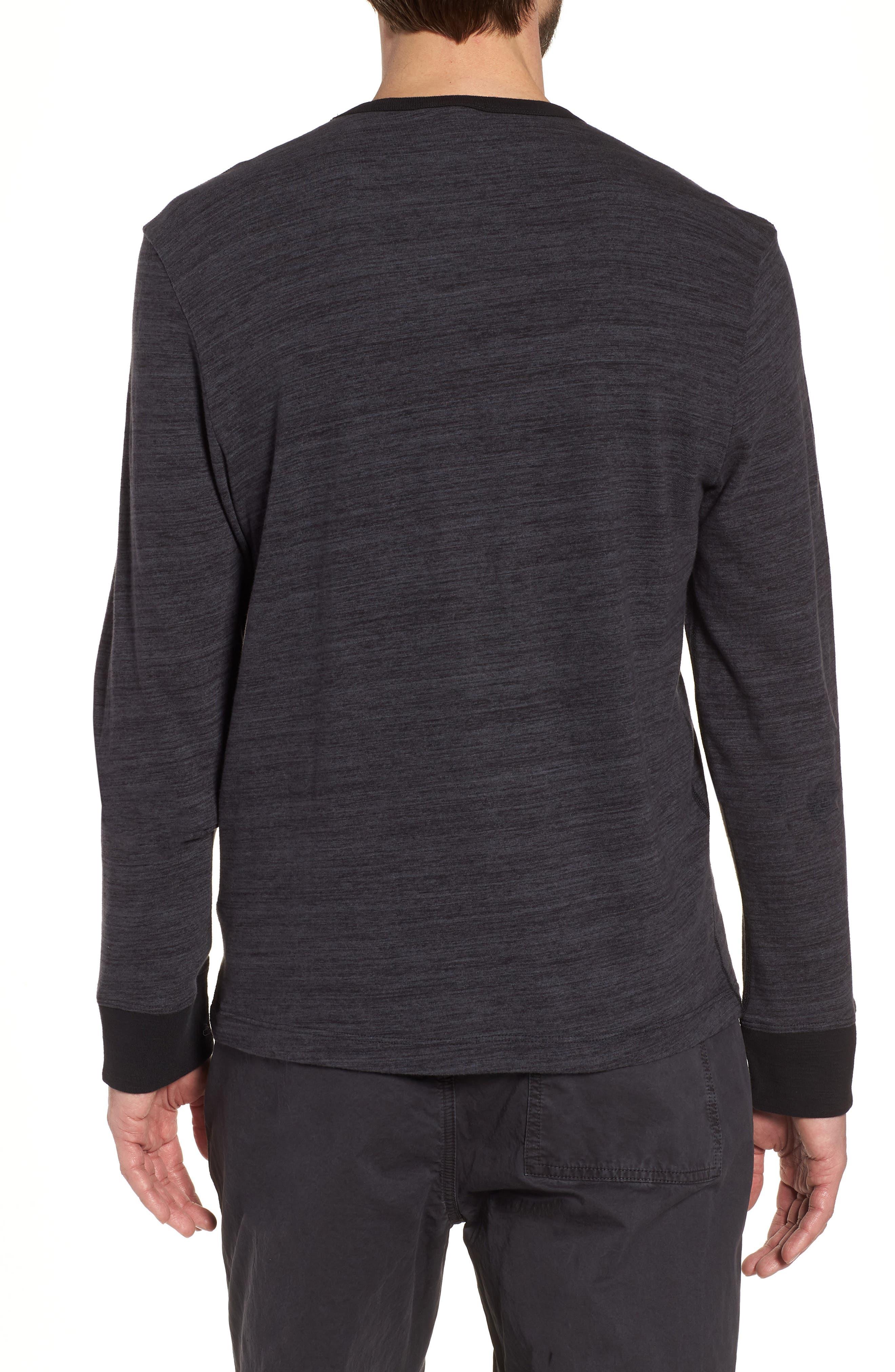 Regular Fit Top Dyed Crewneck T-Shirt,                             Alternate thumbnail 2, color,                             002