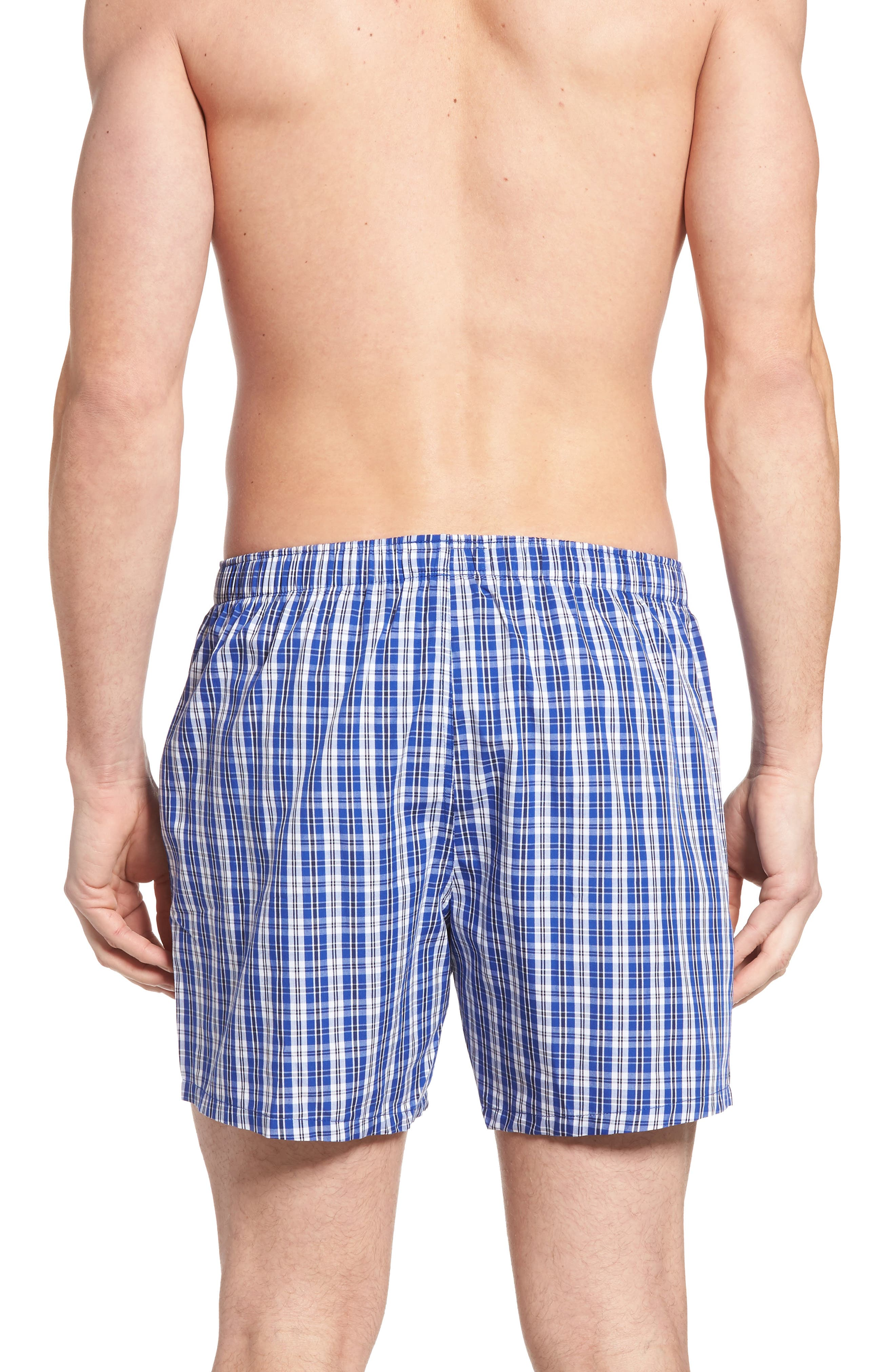 Stripe Cotton Boxers,                             Alternate thumbnail 6, color,