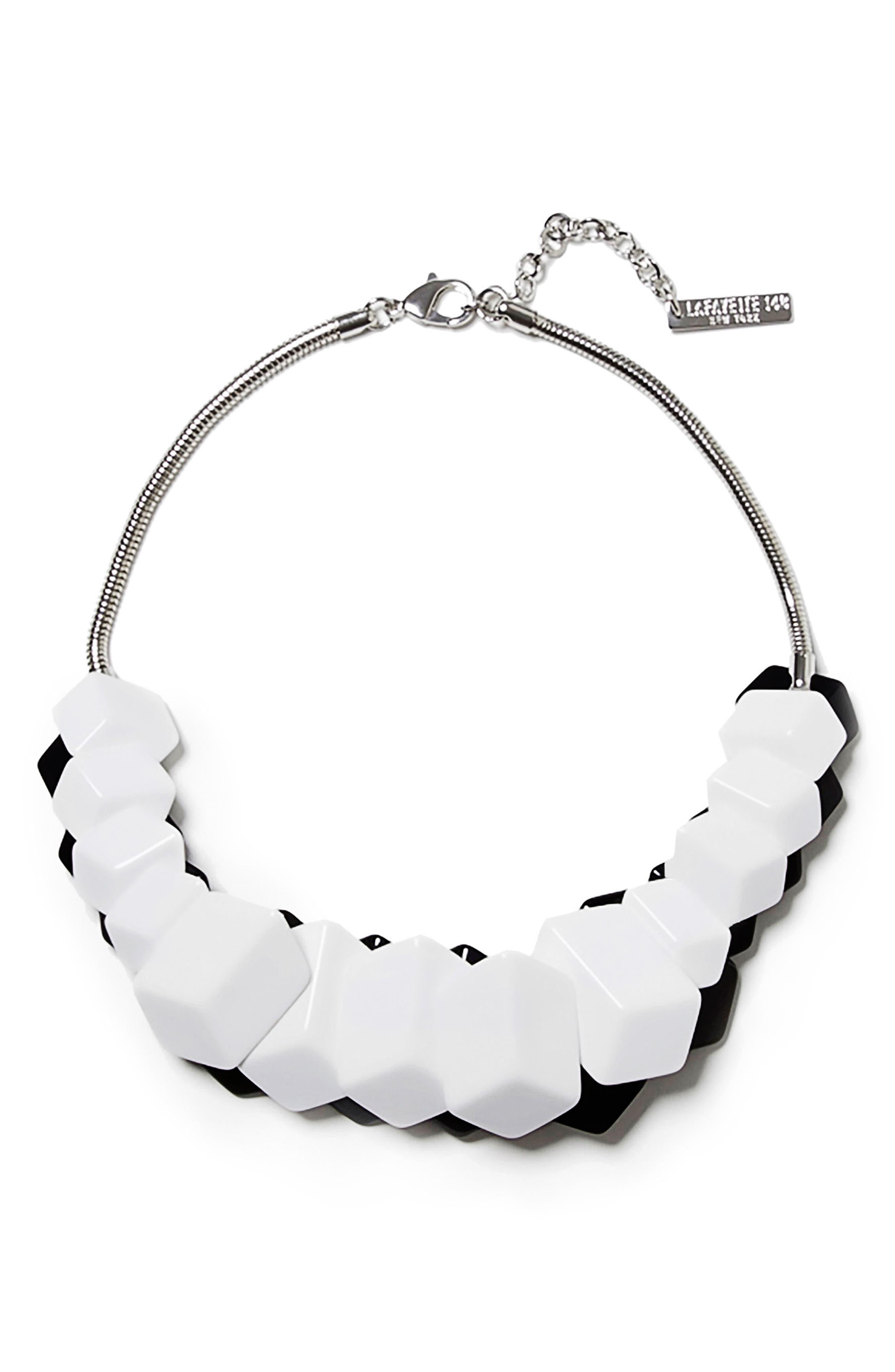 Cubist Reversible Statement Necklace,                         Main,                         color, 040
