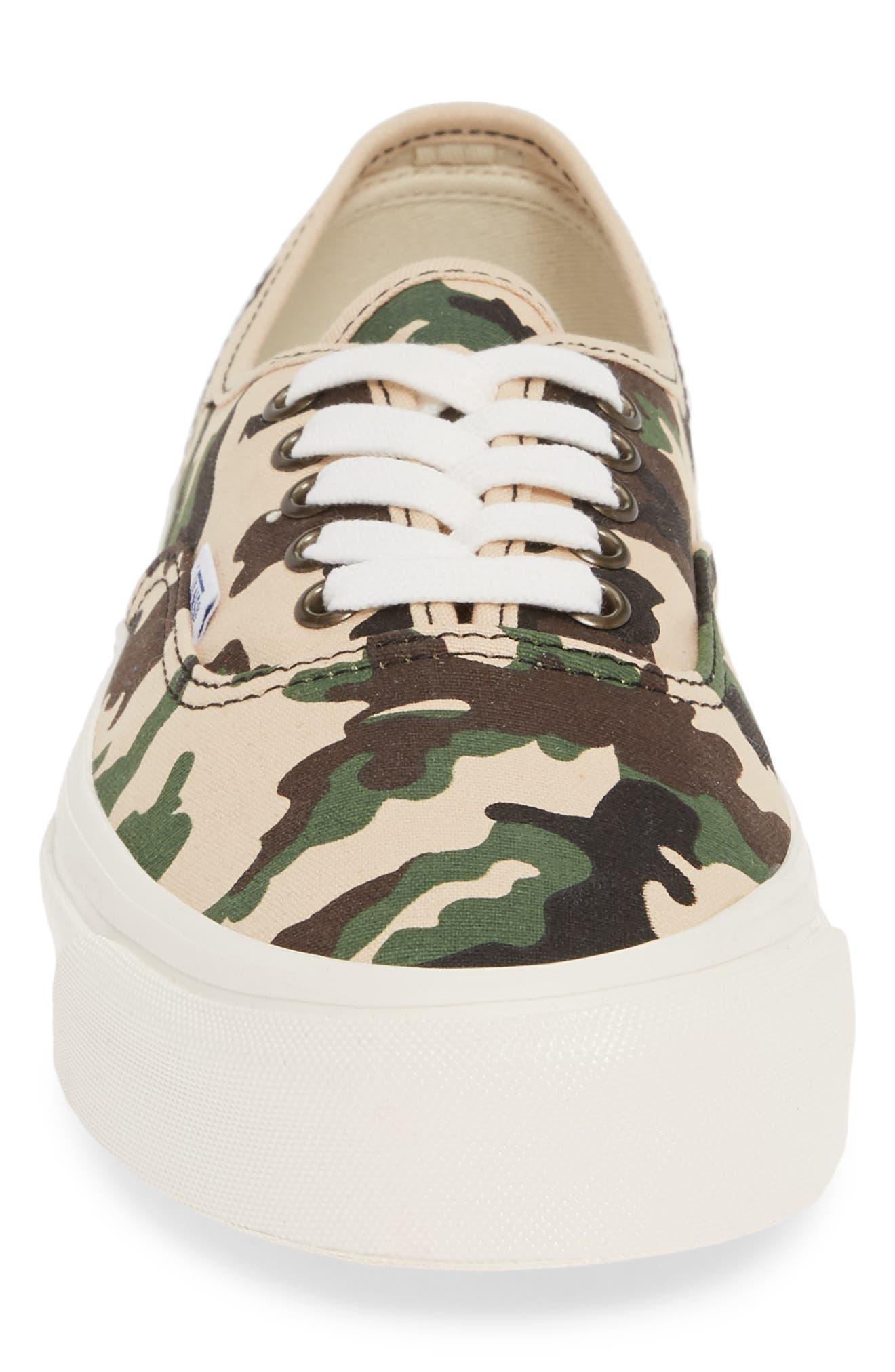 UA Authentic 44 DX Sneaker,                             Alternate thumbnail 4, color,                             201