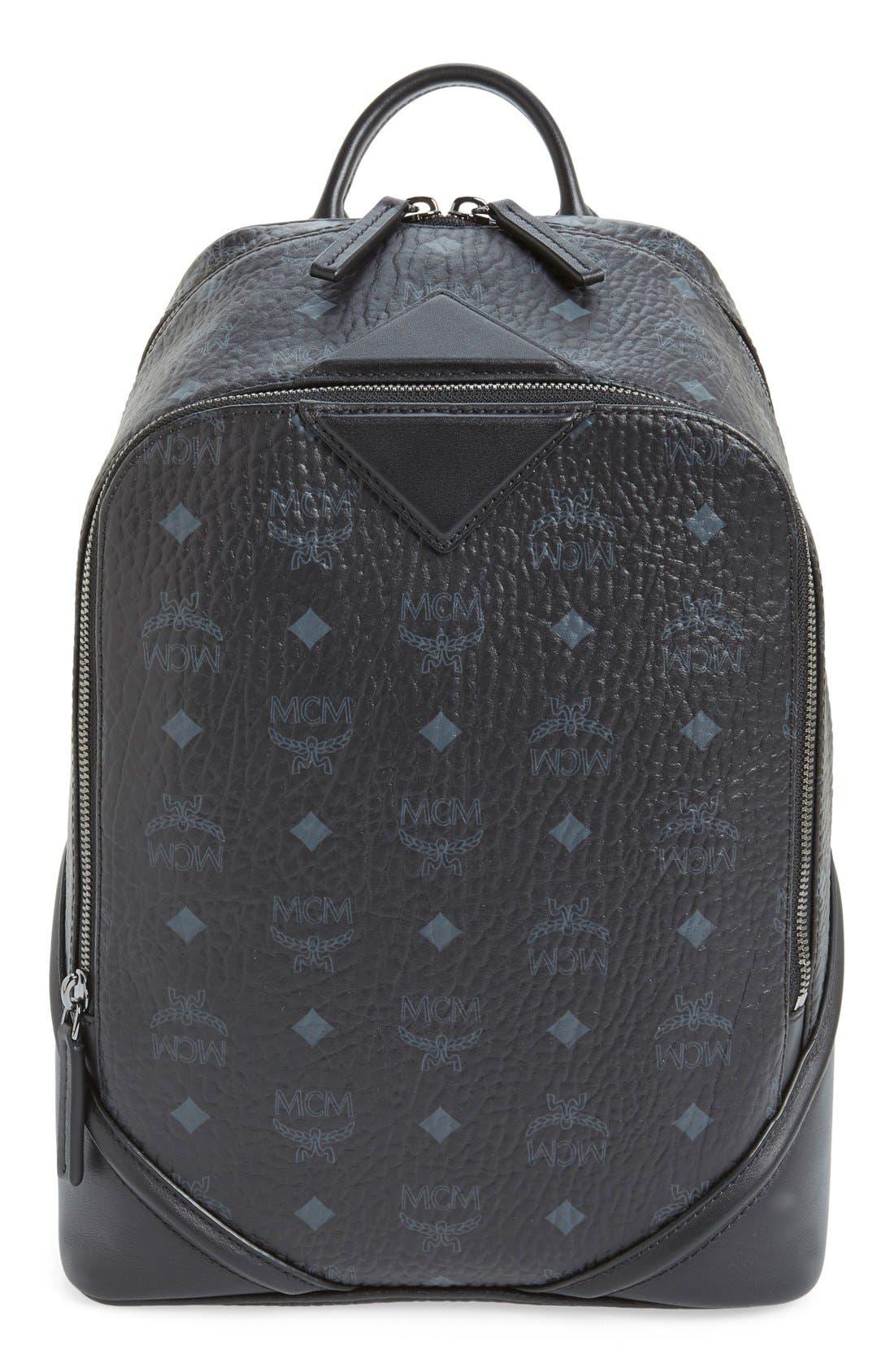 'Duke Visetos' Backpack, Main, color, 001