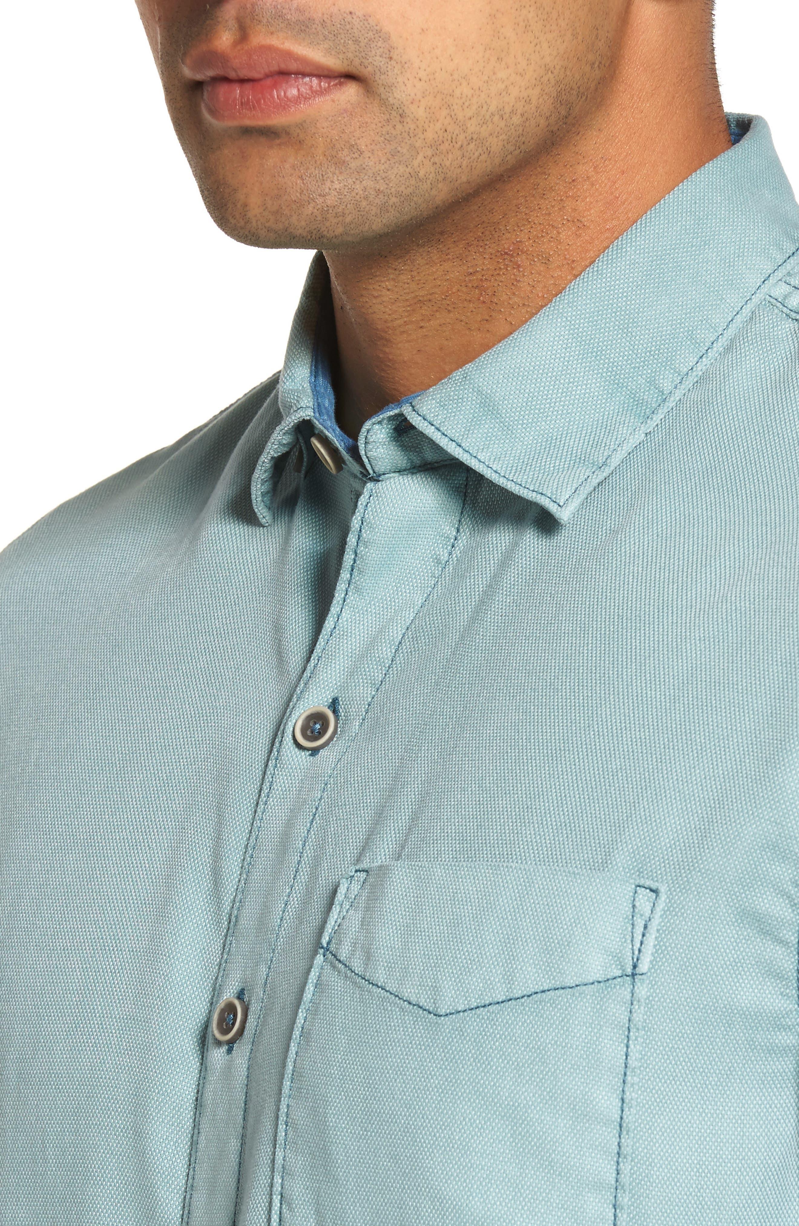 Dobby Dylan Sport Shirt,                             Alternate thumbnail 10, color,