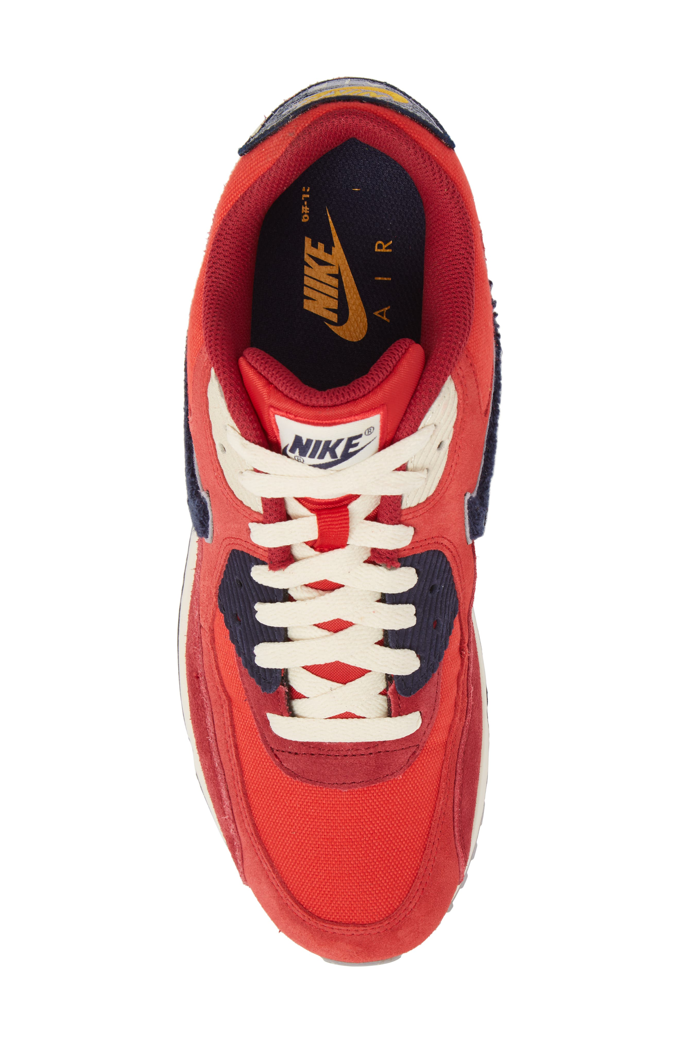Air Max 90 Premium Sneaker,                             Alternate thumbnail 14, color,