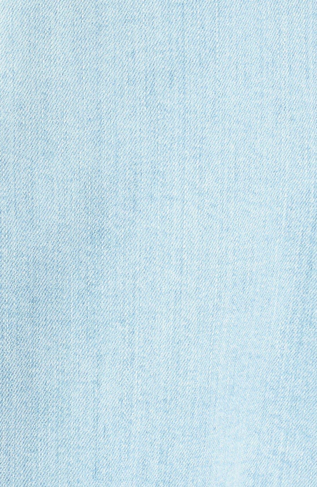 'Anne' Denim Dress,                             Alternate thumbnail 5, color,                             476