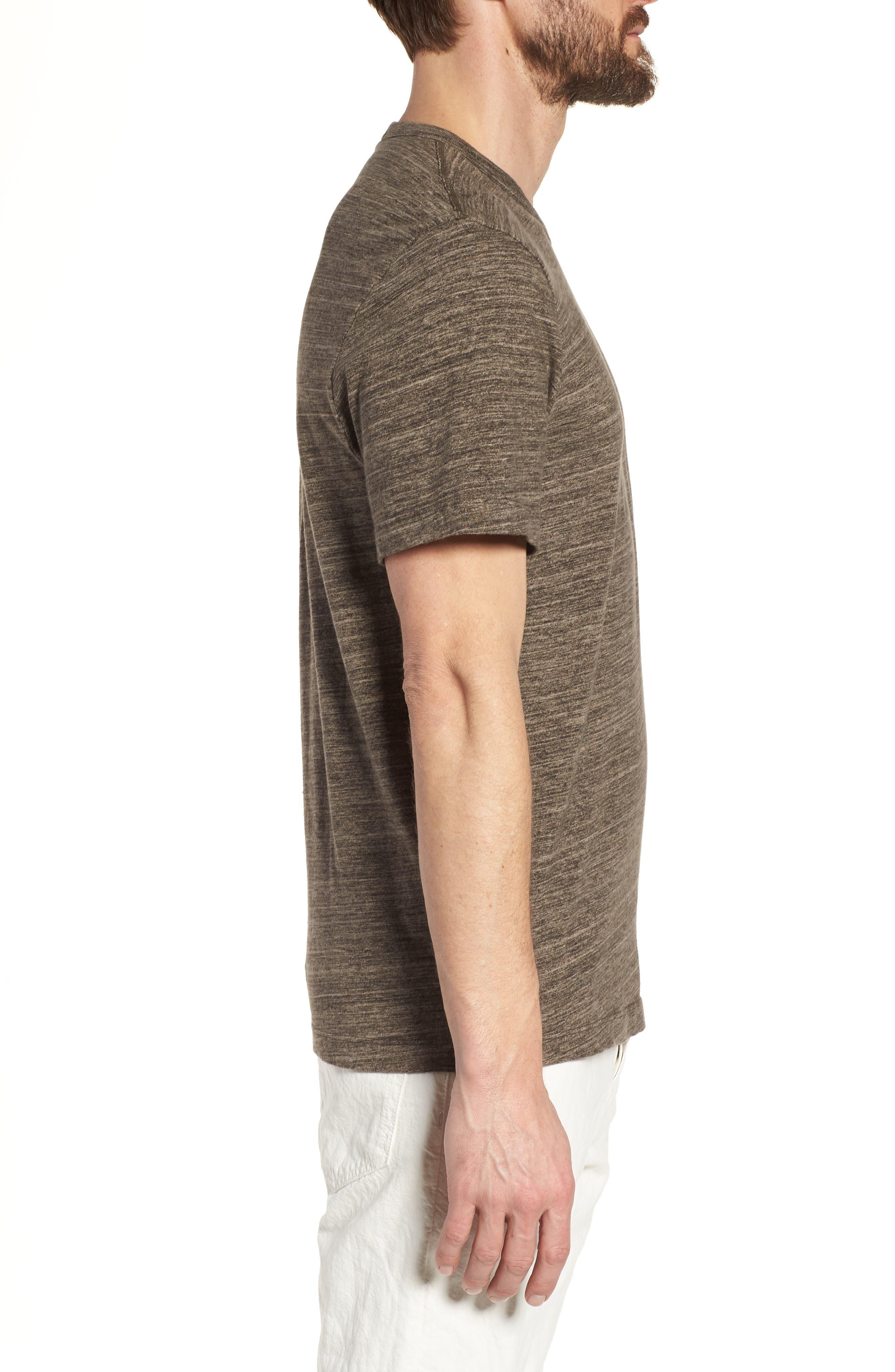 Regular Fit Top Dyed Crewneck T-Shirt,                             Alternate thumbnail 9, color,