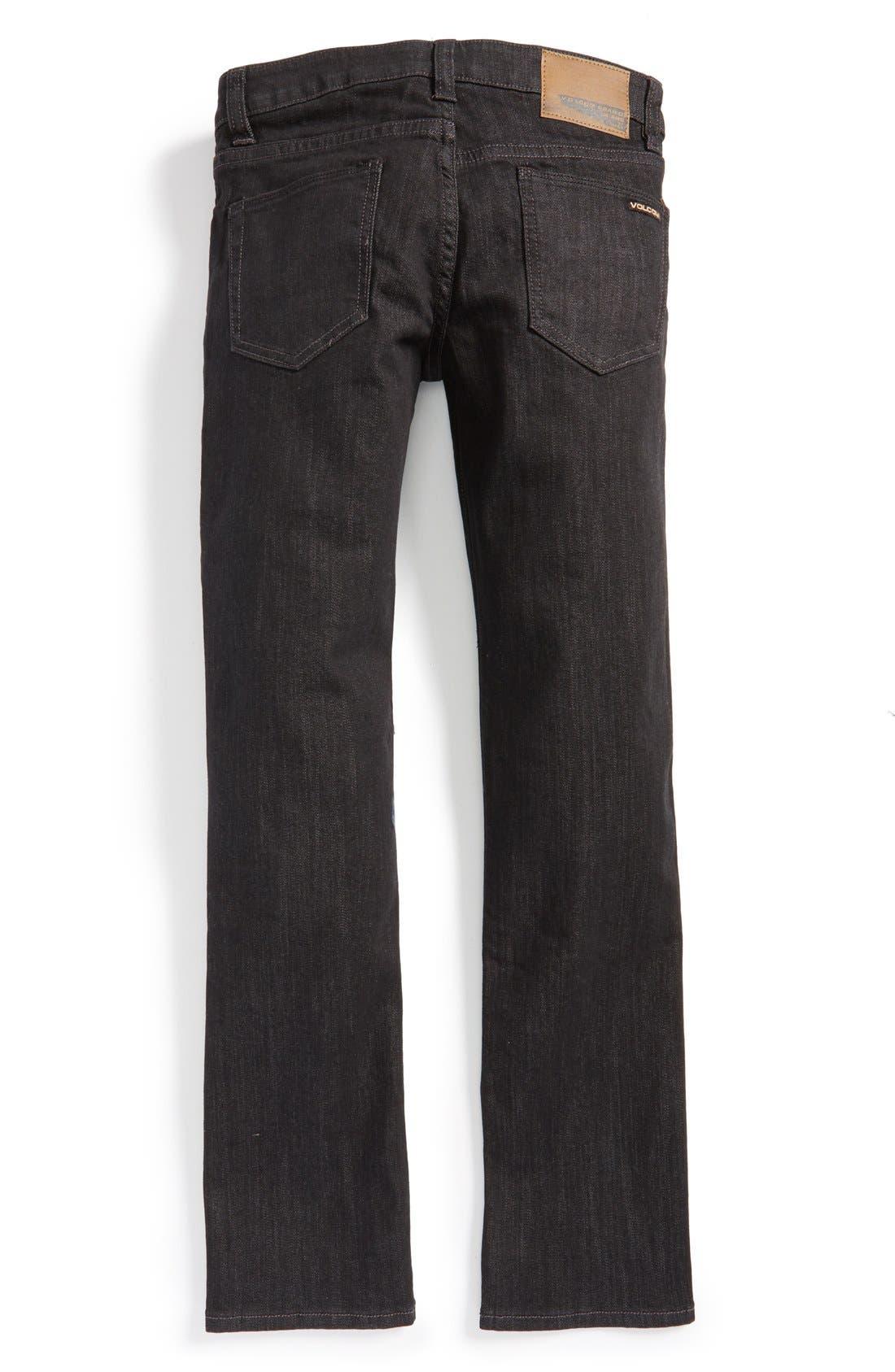 'Vorta' Slim Fit Jeans,                             Alternate thumbnail 3, color,                             005