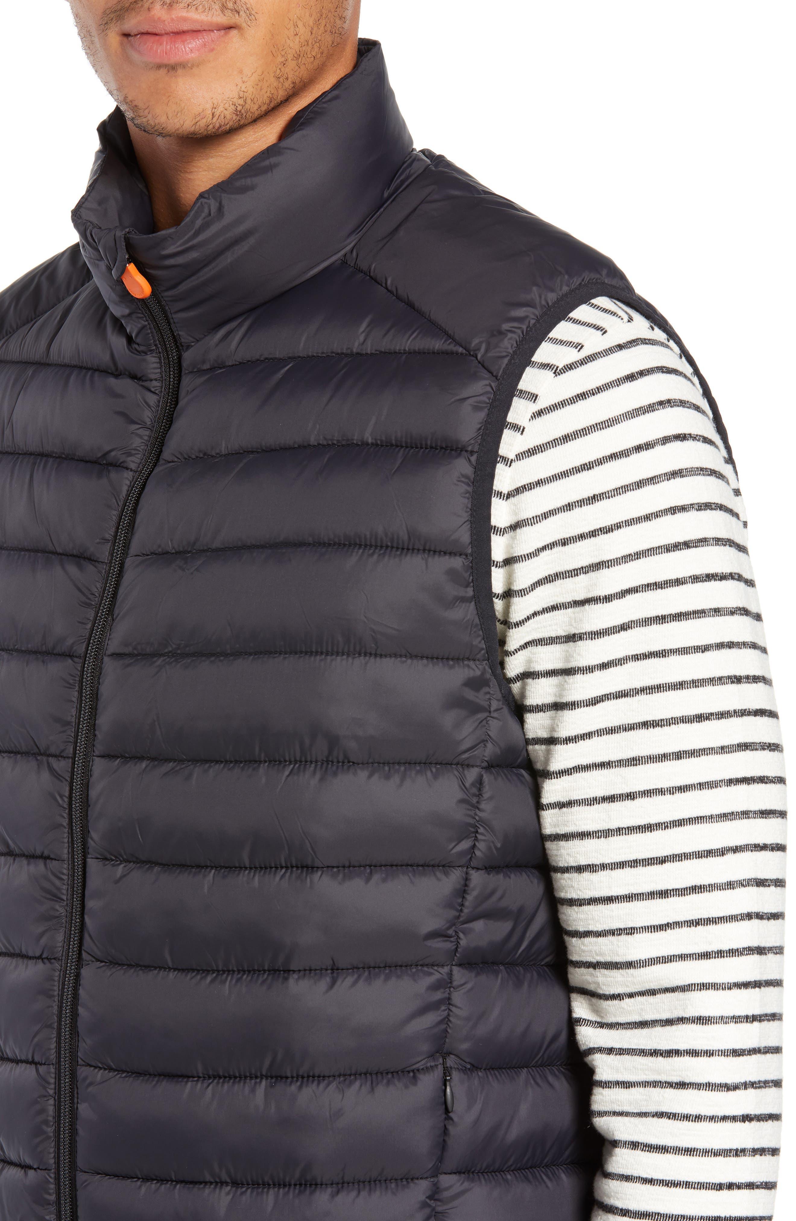 Lightweight Packable Vest,                             Alternate thumbnail 4, color,                             BLACK
